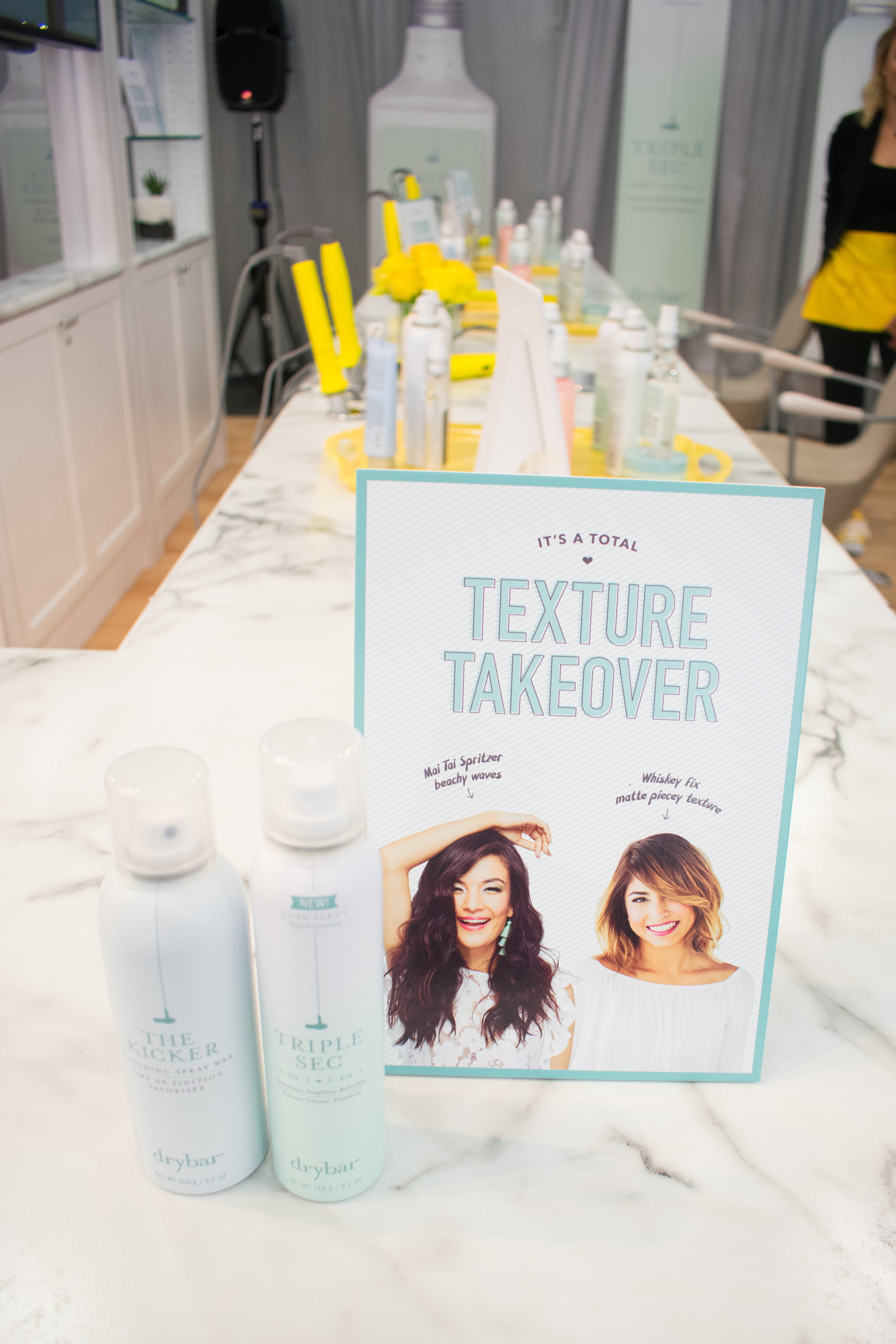 Make Your Life Sweeter Events- Drybar Ulta Convention