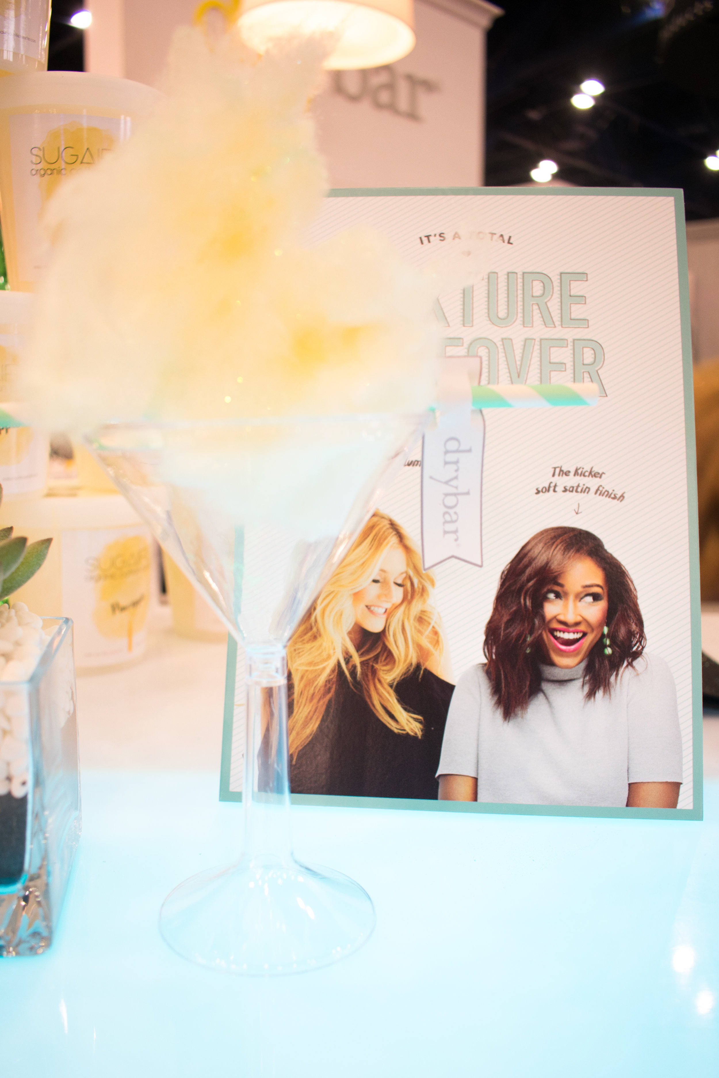 Sugaire Organic Cotton Candy- Drybar Ulta Convention 2018