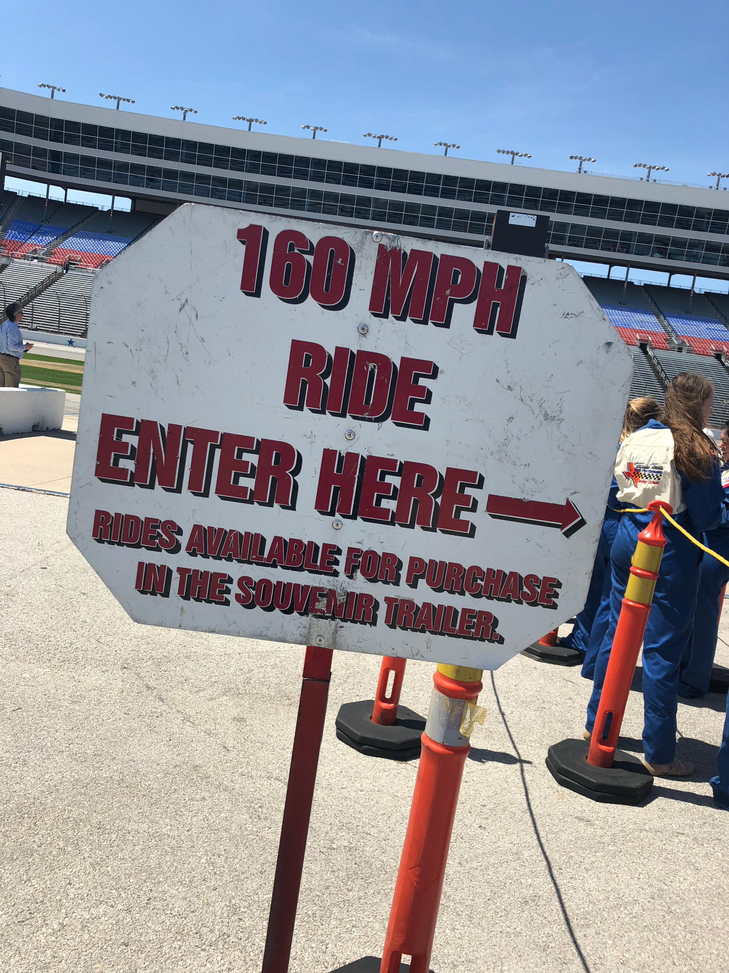 Make Your Life Sweeter Events- Texas Motor Speedway