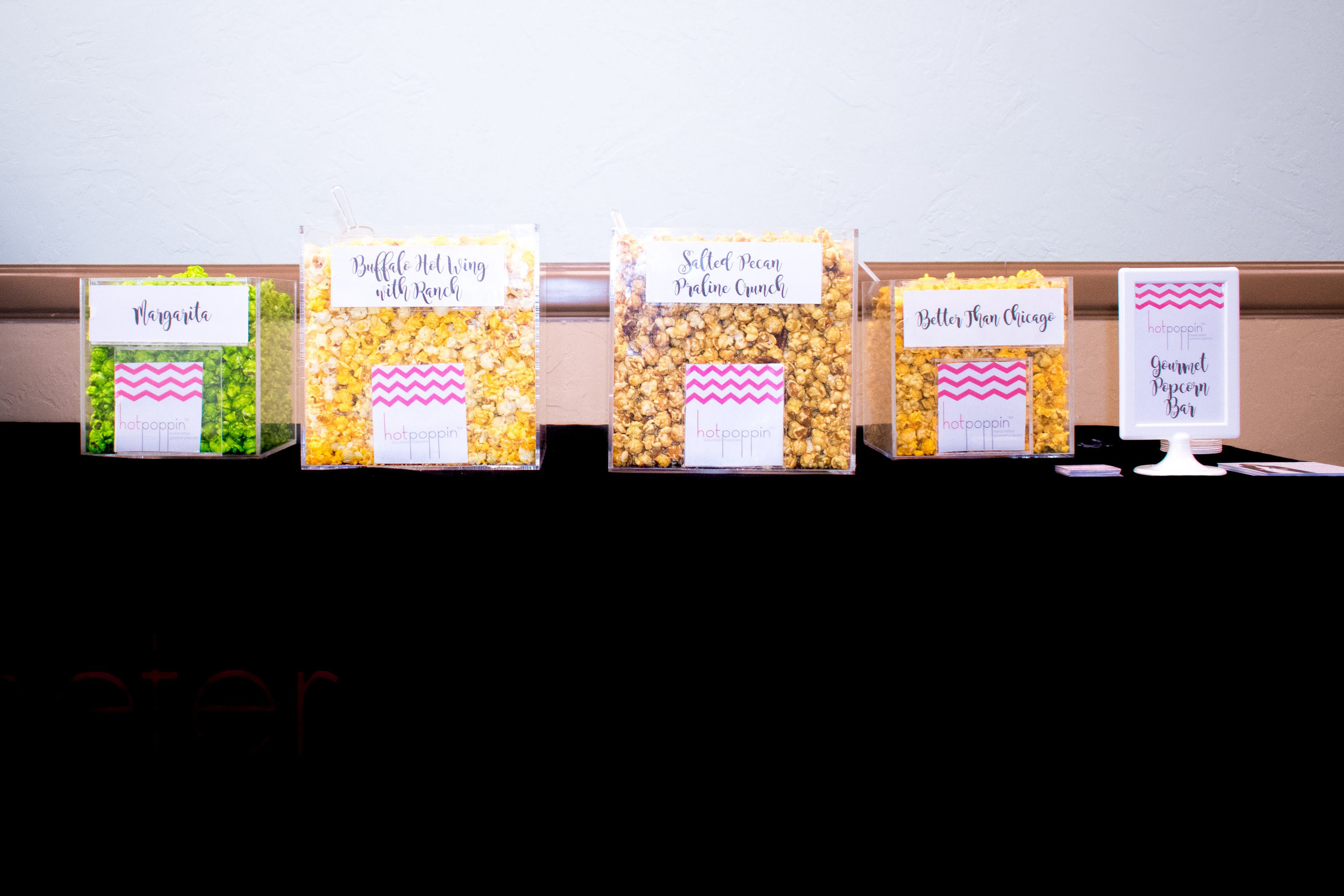 HotPoppin Gourmet Popcorn Bar- Make Your Life Sweeter Events