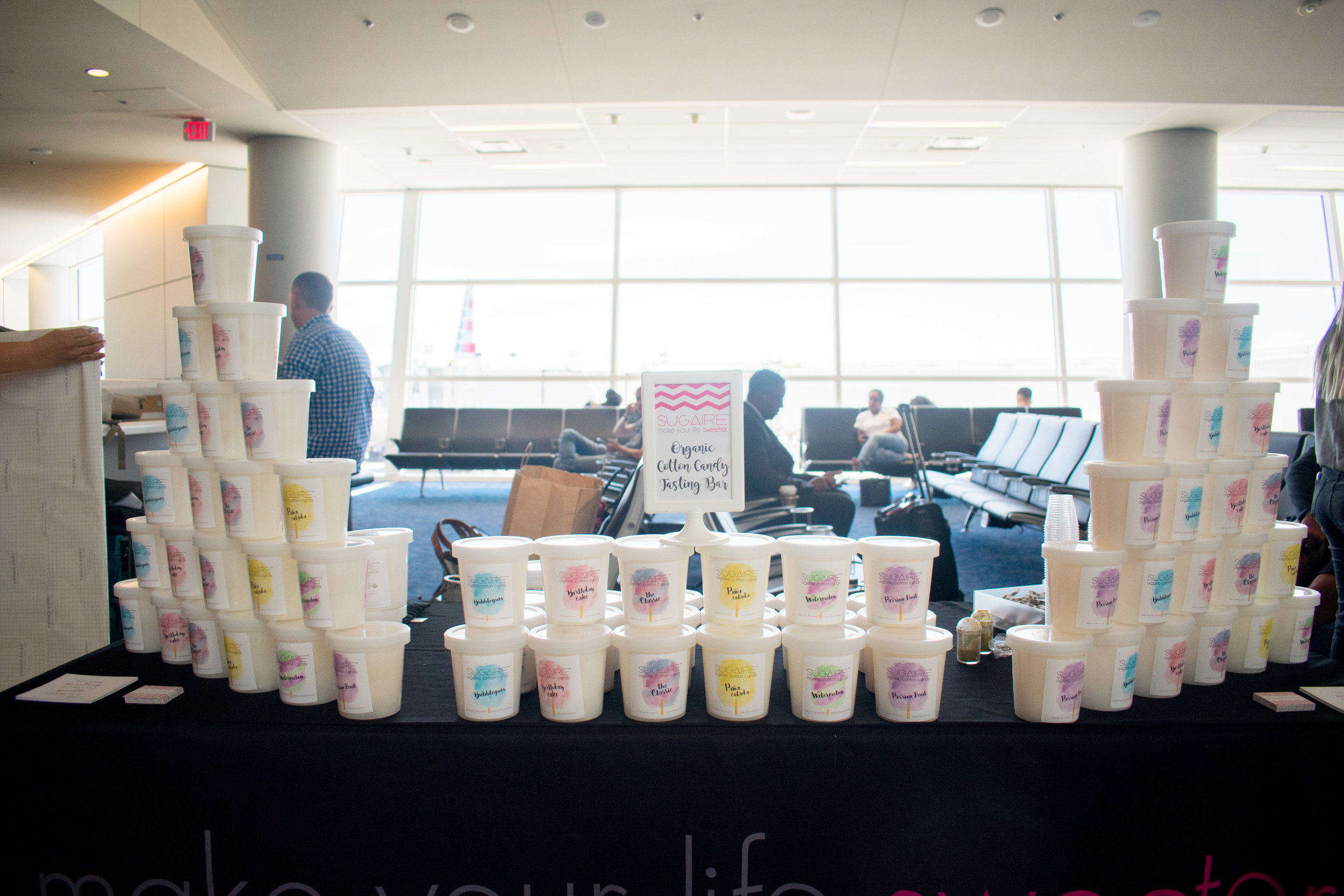 Sugaire Organic Cotton Candy - Make Your Life Sweeter Events DFW Airport