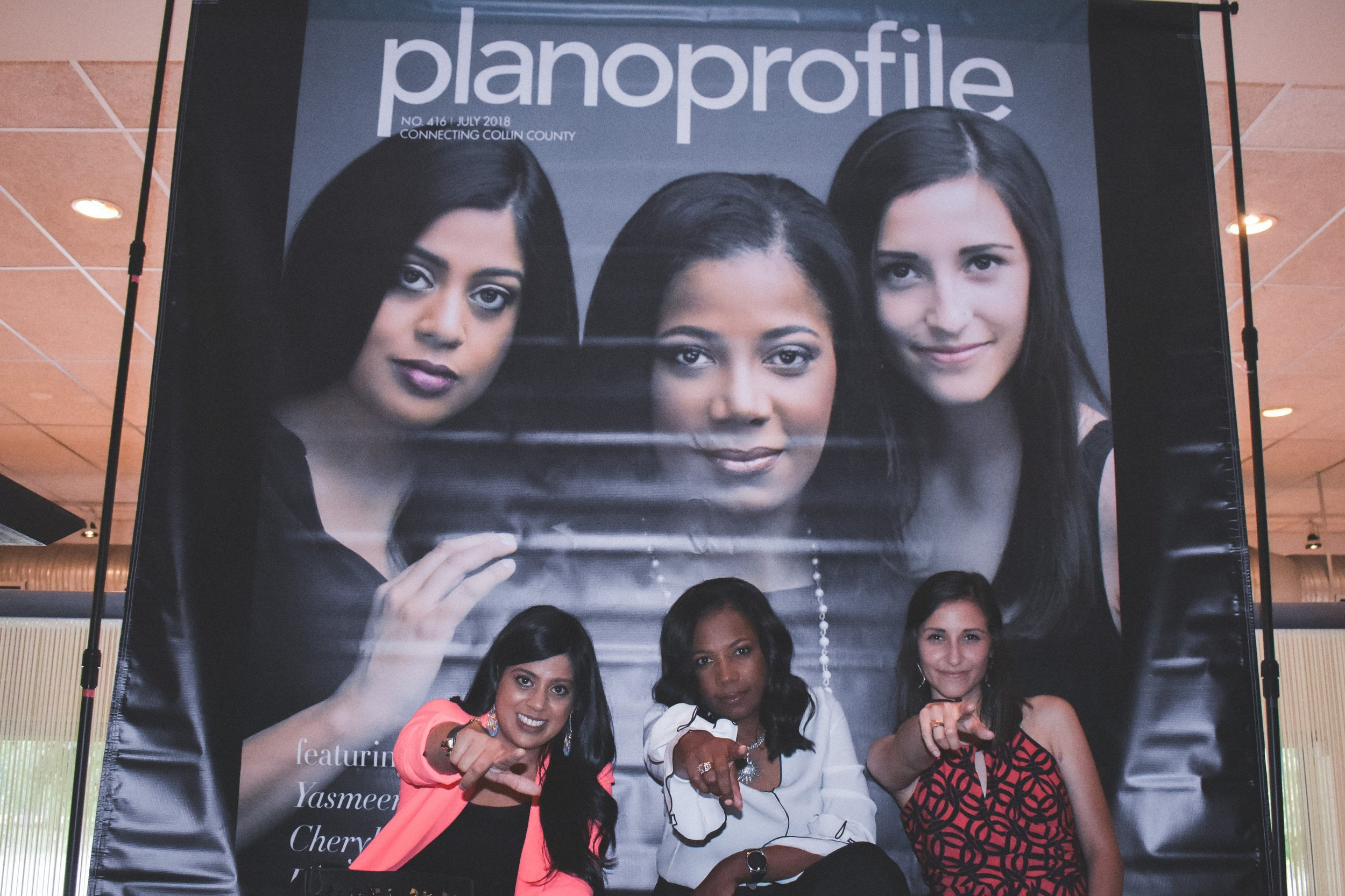 Yasmeen Tadia Events - Plano Profile Cover Party