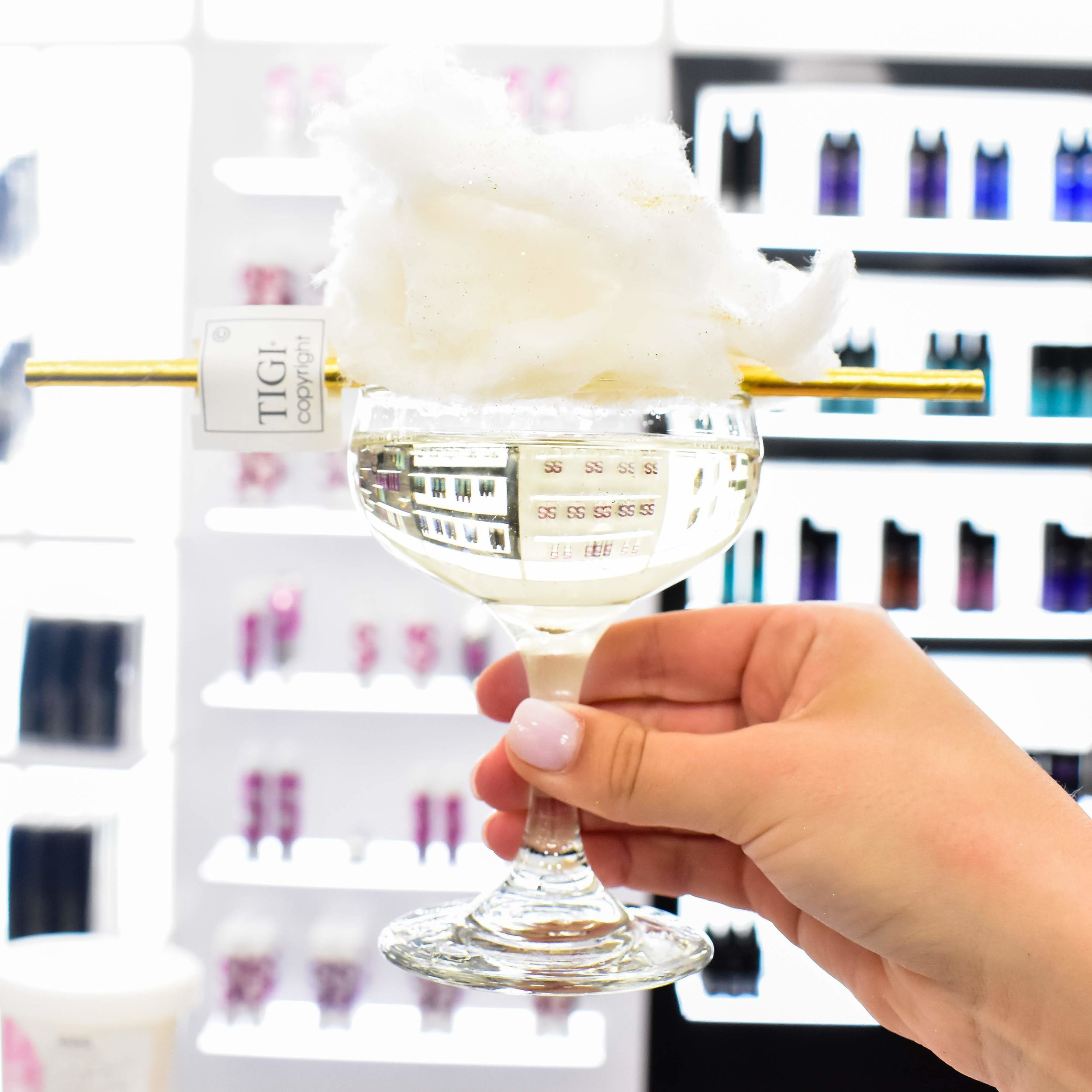 Sugaire Organic Cotton Candy Infusion - TIGI Launch Party