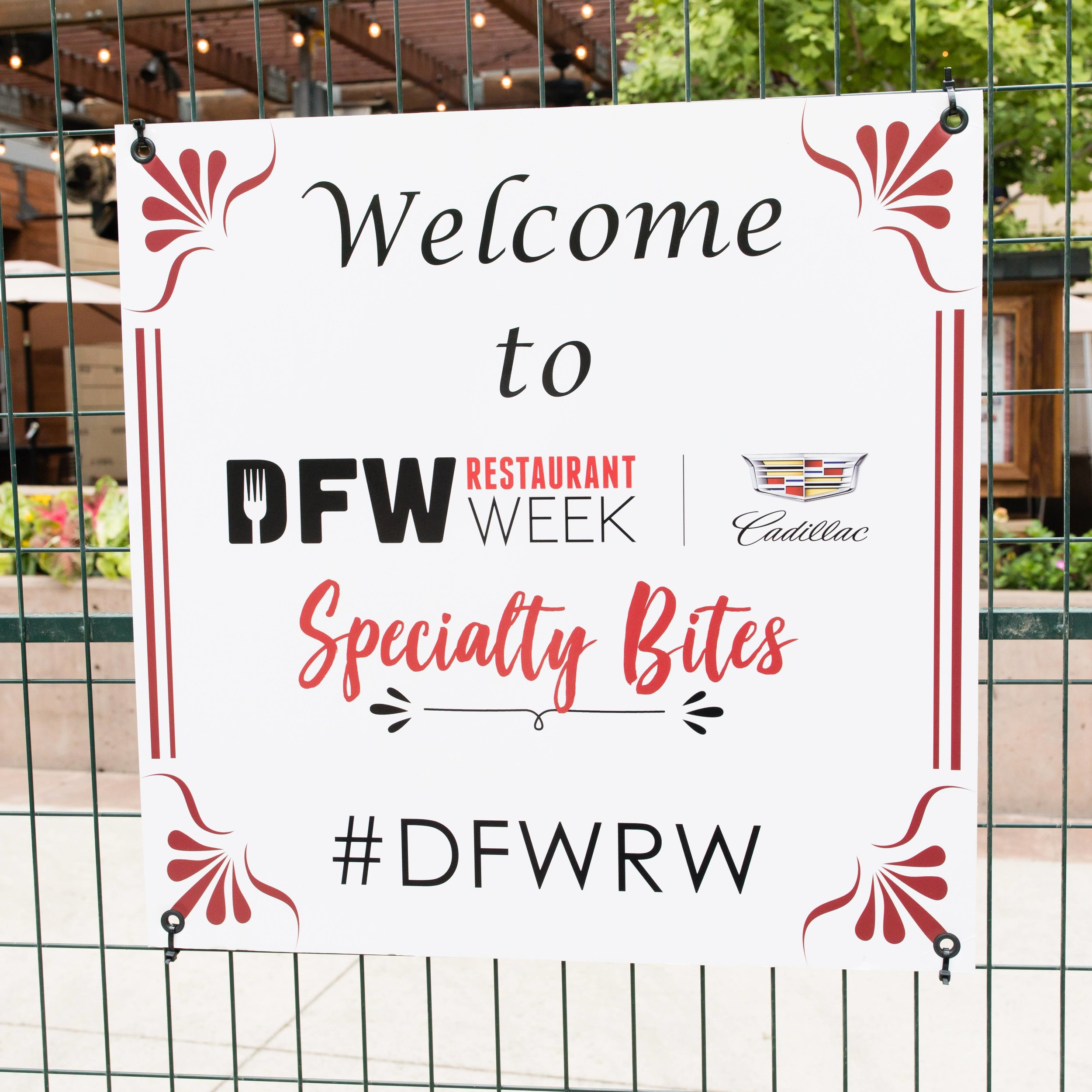 Make Your Life Sweeter Events - DFW Restaurant Week