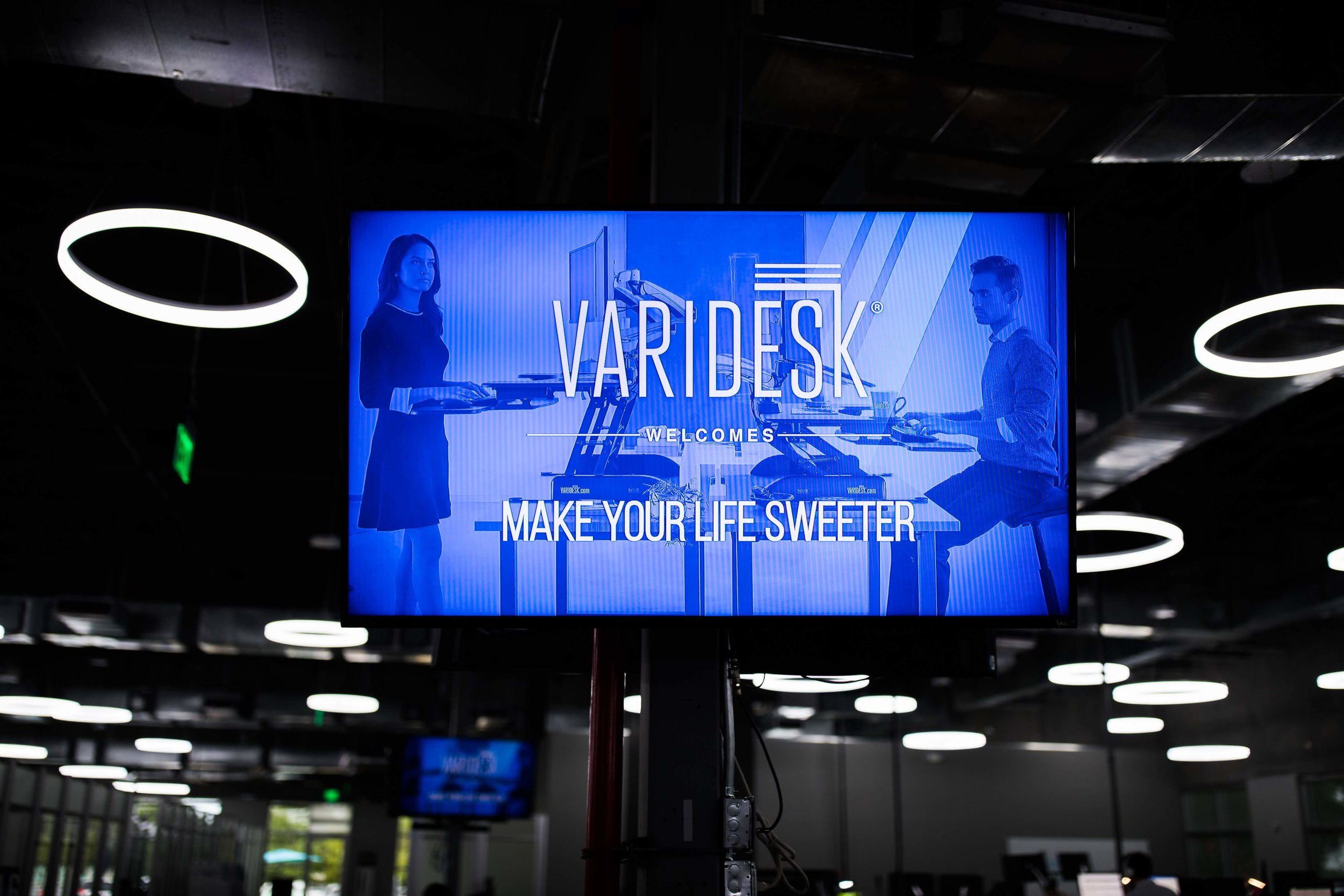 Make Your Life Sweeter Partnerships - Varidesk