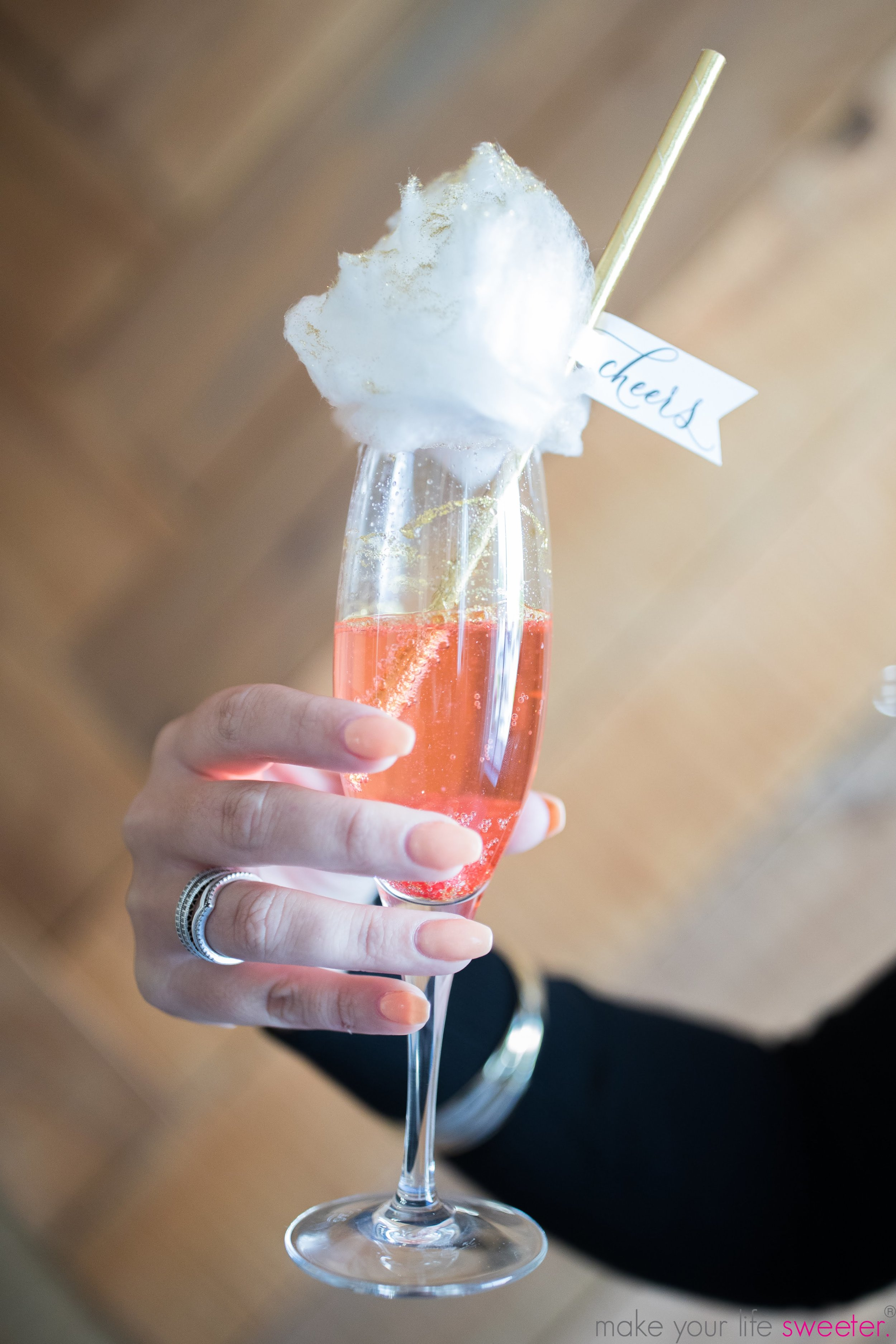 Make Your Life Sweeter Events: The Knot Annapolis - Sugaire Organic Cotton Candy