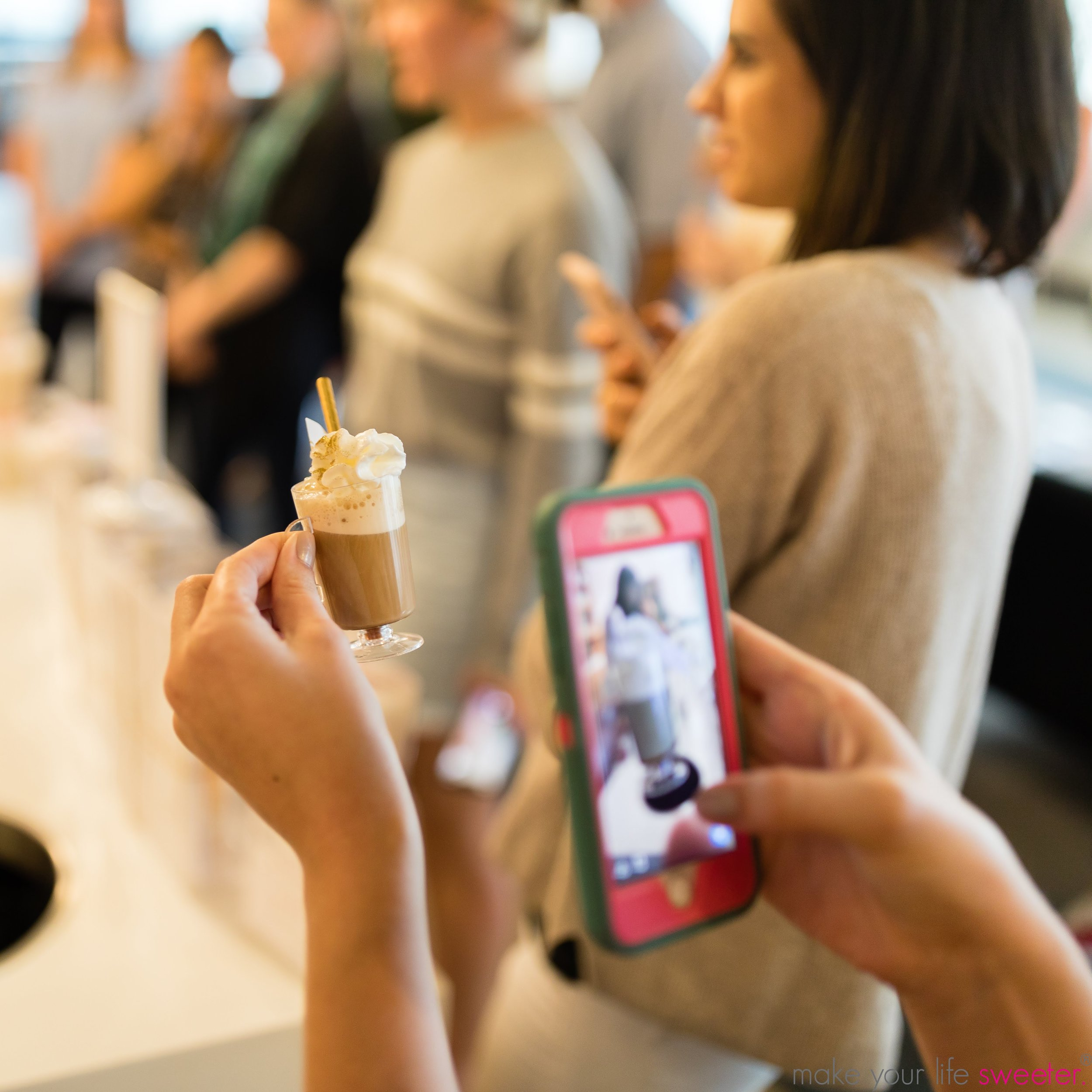 Make Your Life Sweeter Events - D Magazine Office Affogato Bar