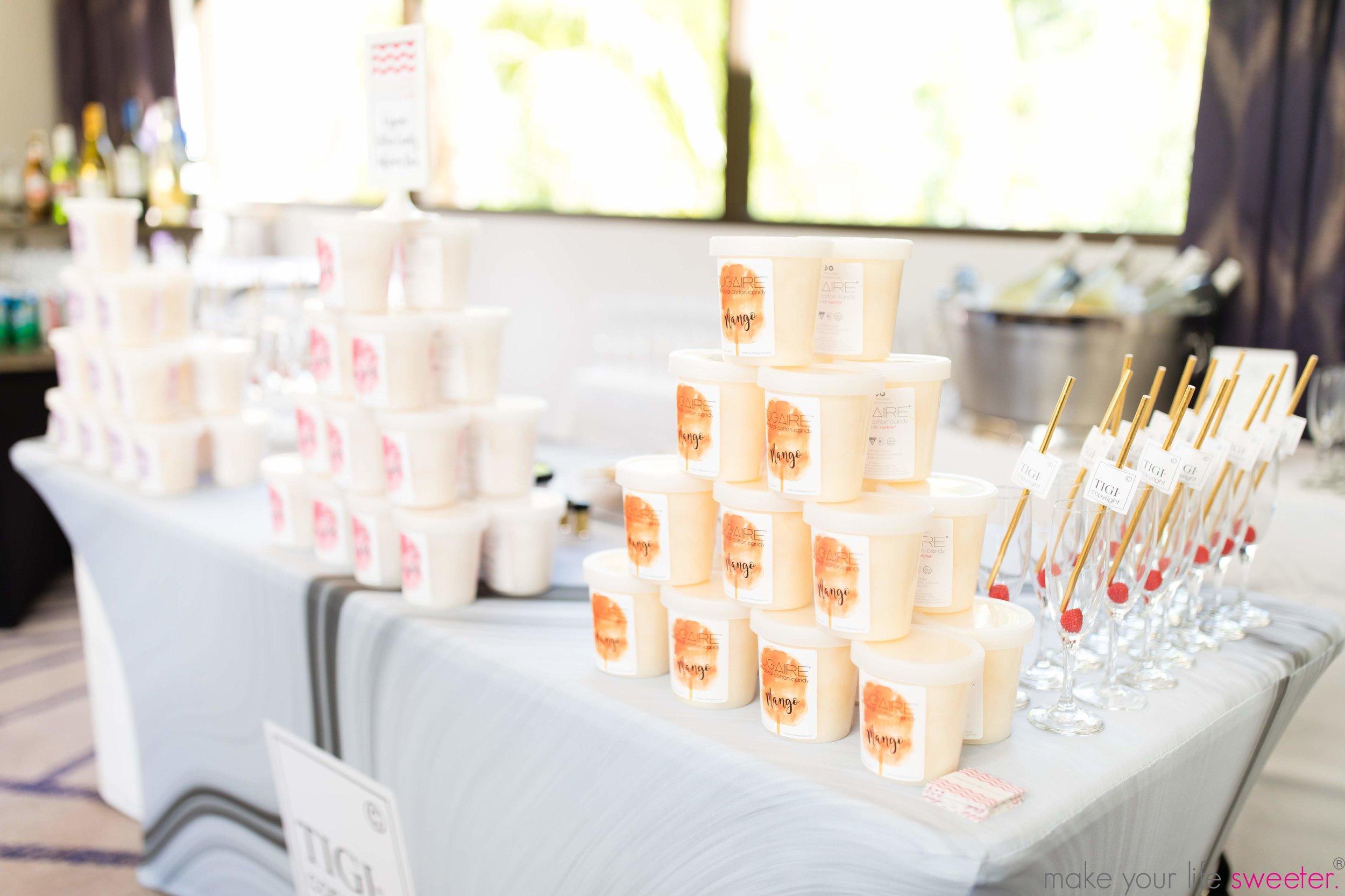 Sugaire Organic Cotton Candy Infusion Bar  - TIGI Event
