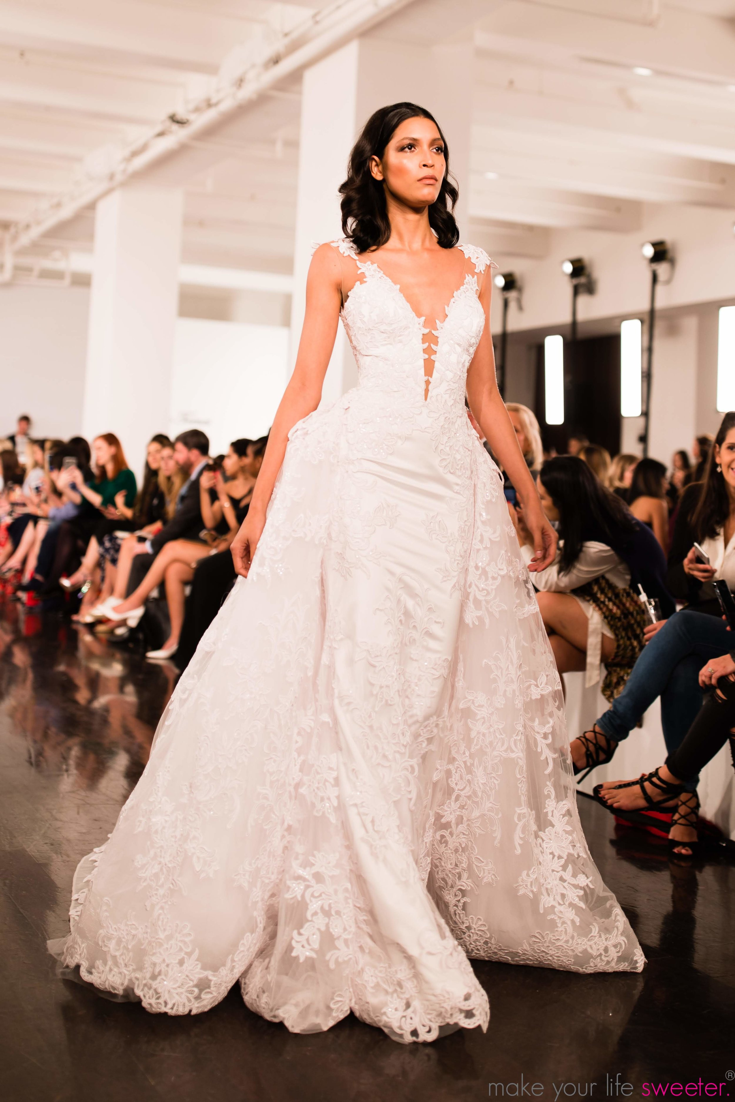 Make Your Life Sweeter Events - Kleinfelds Annual Bridal Fashion Show | The Pnina Tornai Collection
