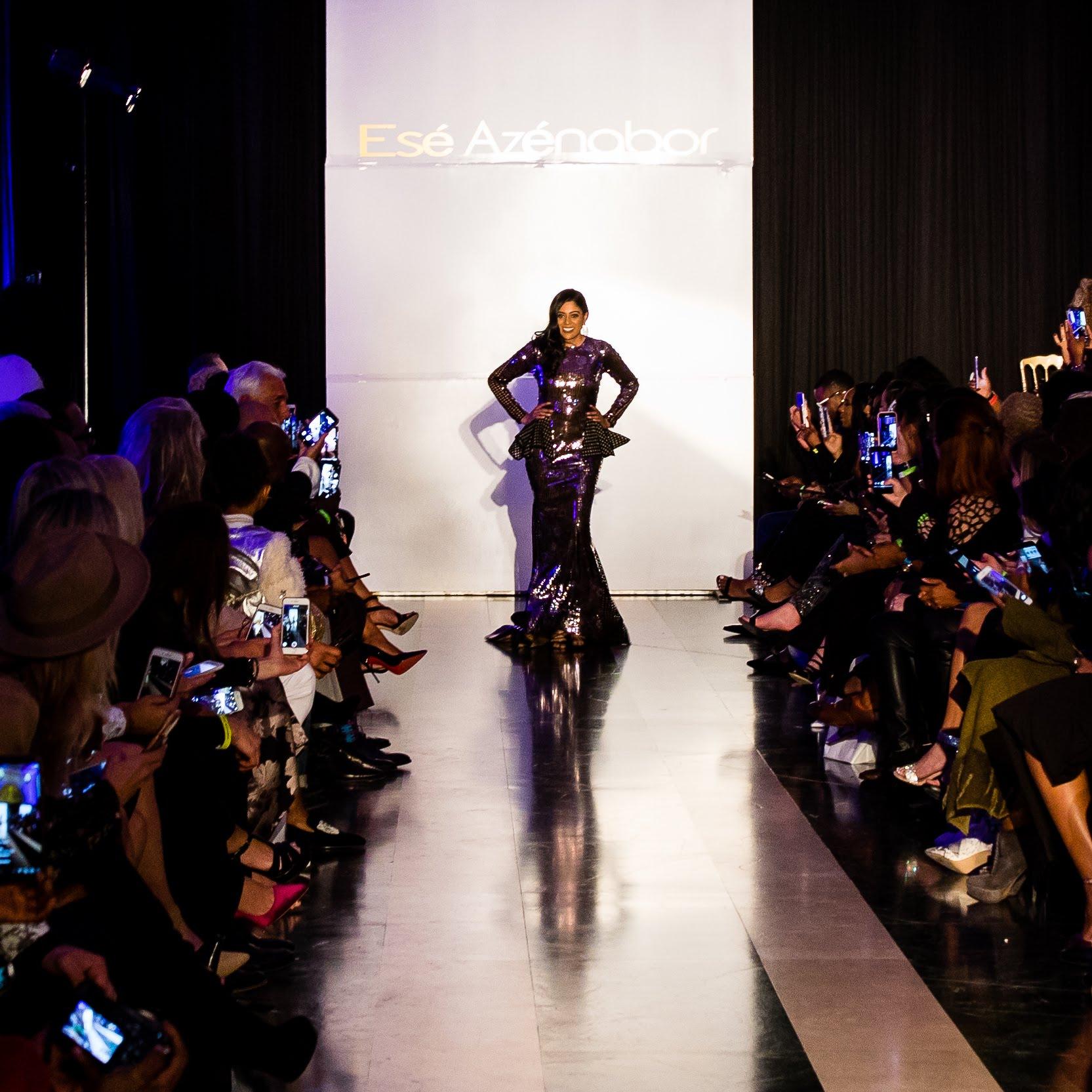 Yasmeen Tadia - Esé Azénabor Fashion Show