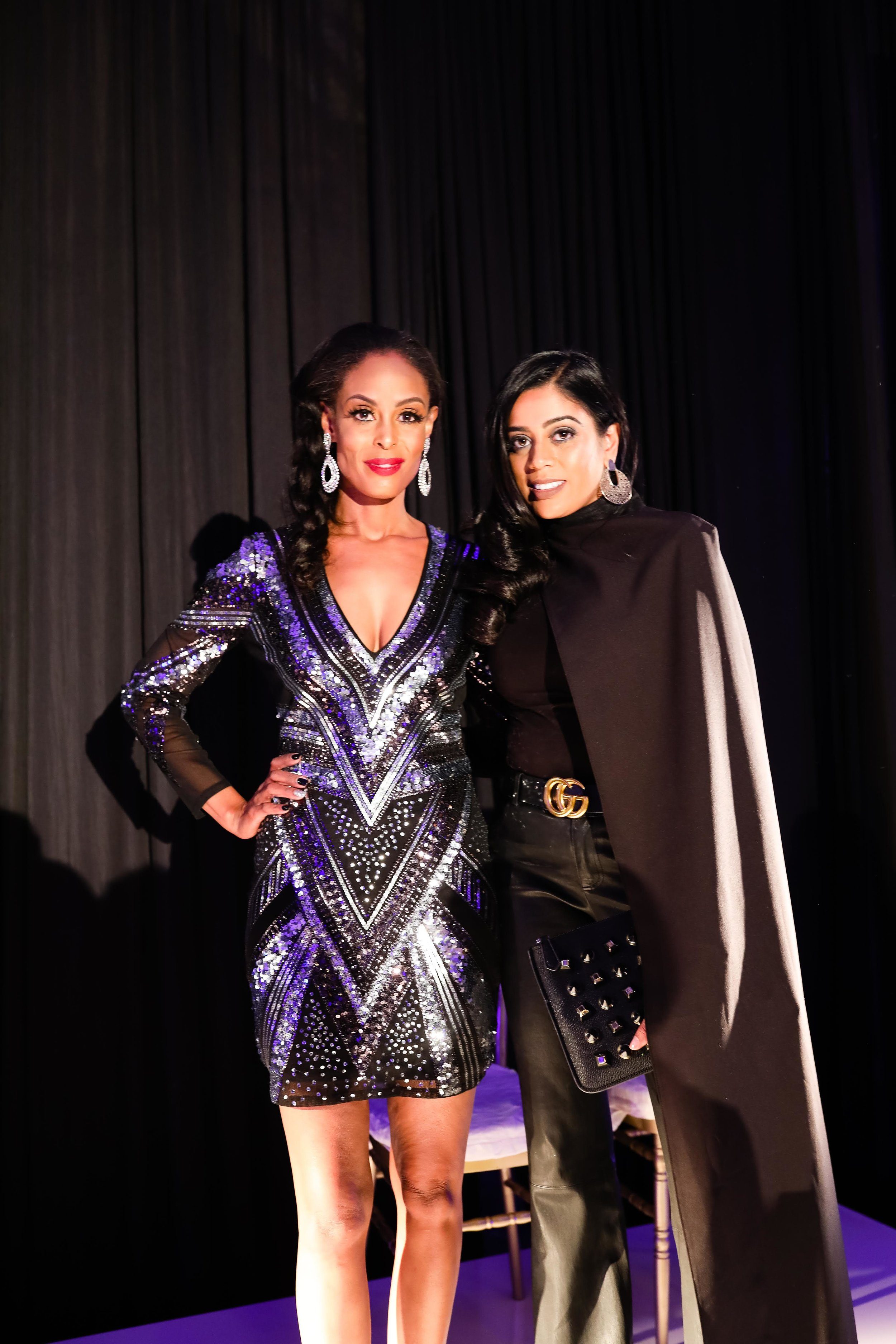 Yasmeen Tadia and Deve Sanford - Esé Azénabor Fashion Show 2018