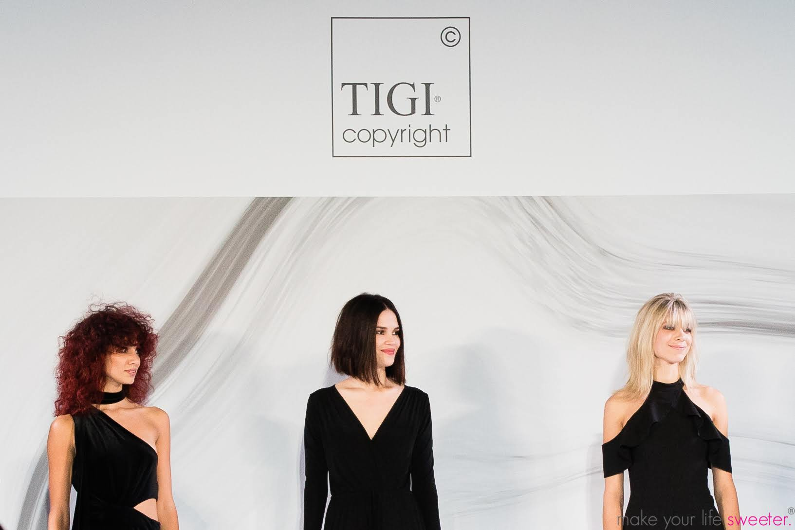 Make Your Life Sweeter Events - TIGI Copyright Miami