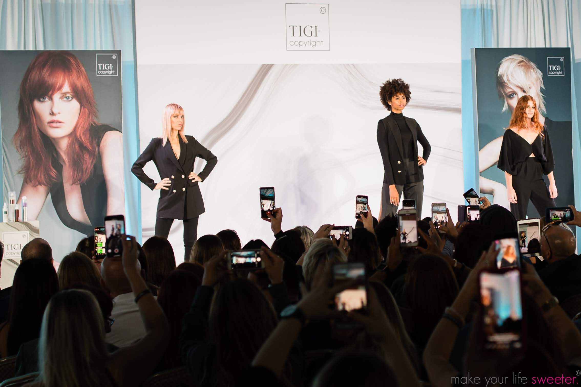 Make Your Life Sweeter Events - TIGI Copyright Event in Miami
