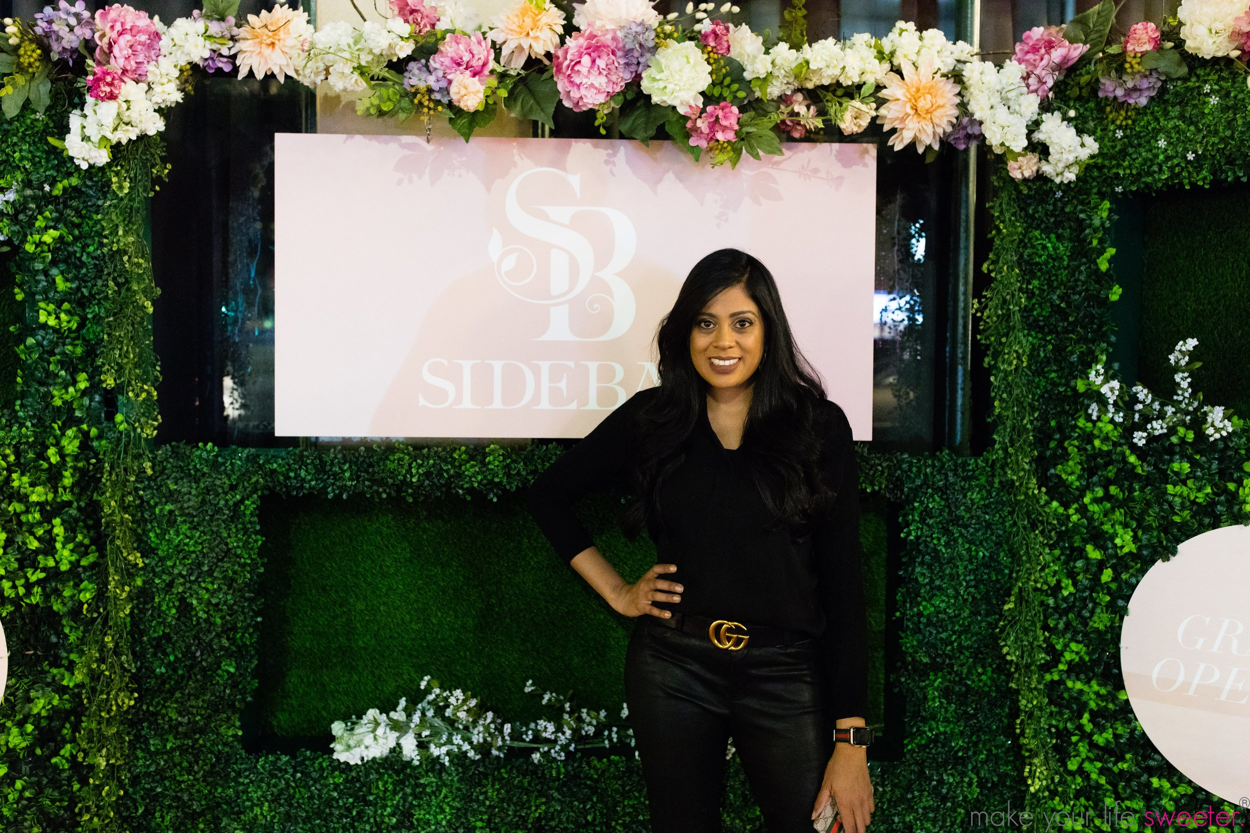 Make Your Life Sweeter Events - Yasmeen Tadia at the SideBar Grand Opening in San Diego