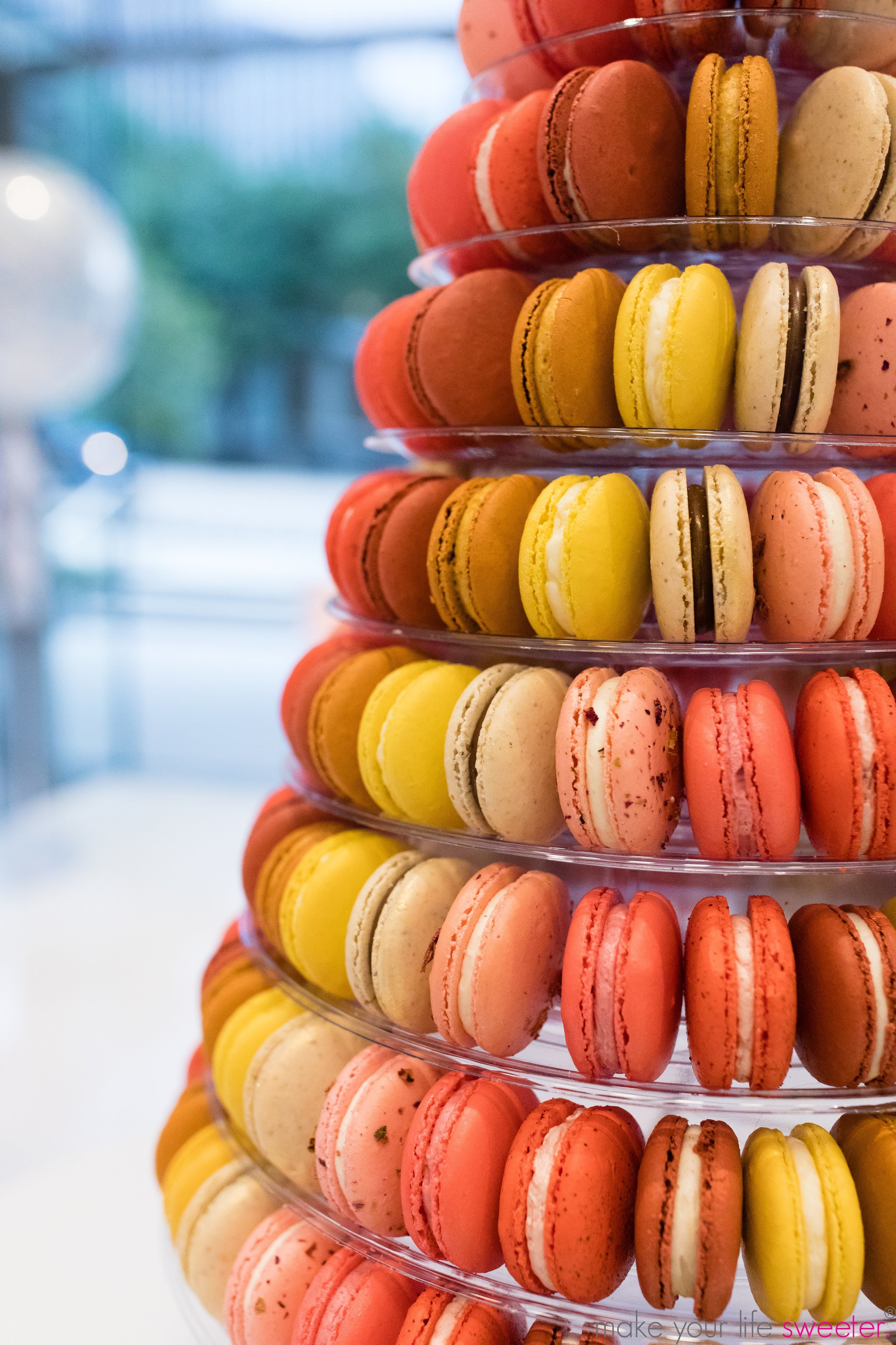 Make Your Life Sweeter Events: PWC Grand Opening - La Mod Macarons Tasting Bar