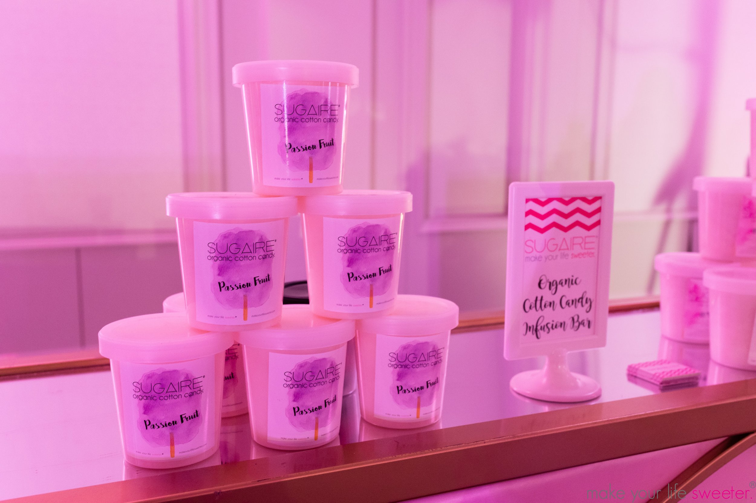 Make Your Life Sweeter Events - Chopra Birthday Party: Sugaire Organic Cotton Candy