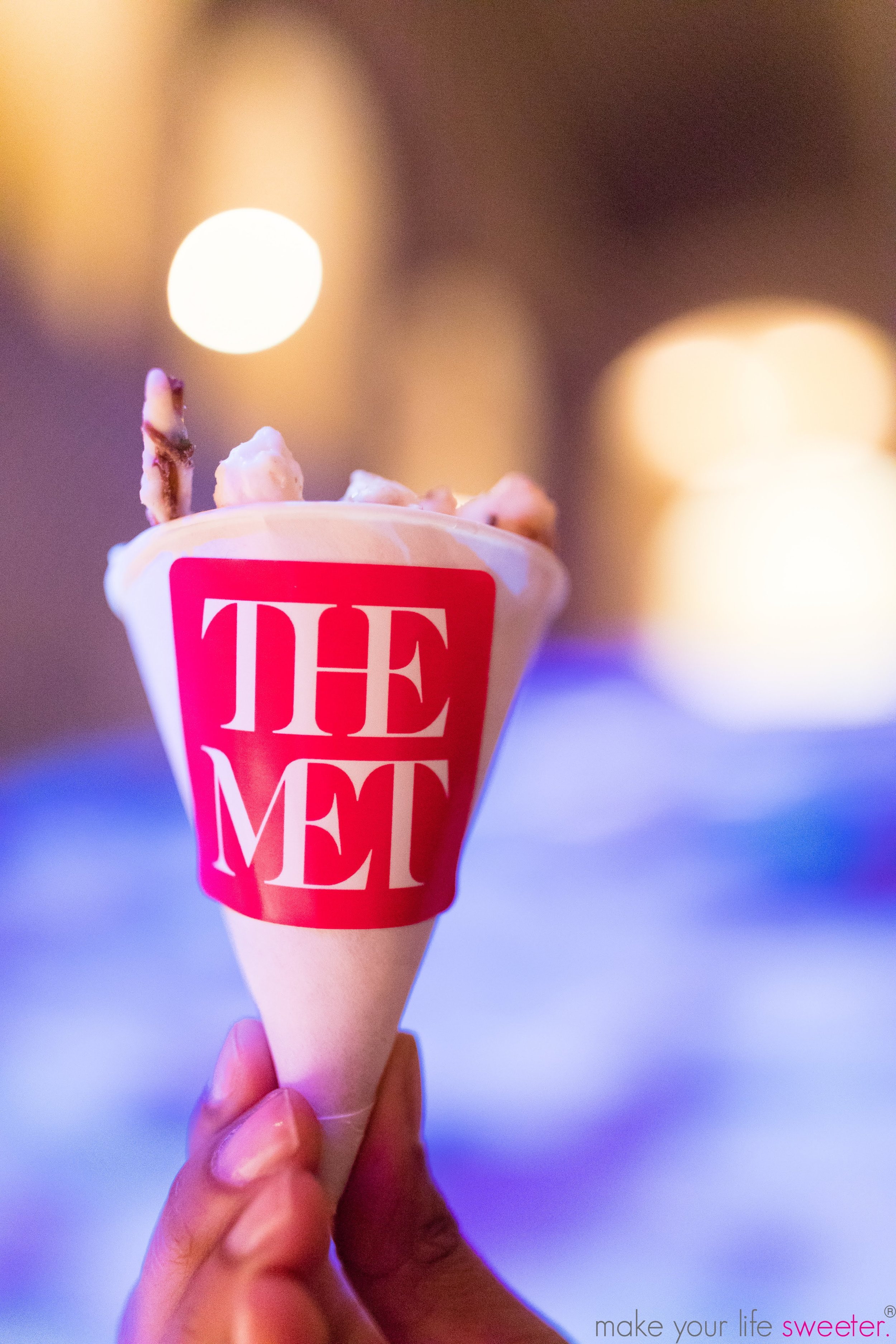 Make Your Life Sweeter Events - The Met Member Holiday Party: HotPoppin Gourmet Popcorn with Customized cones
