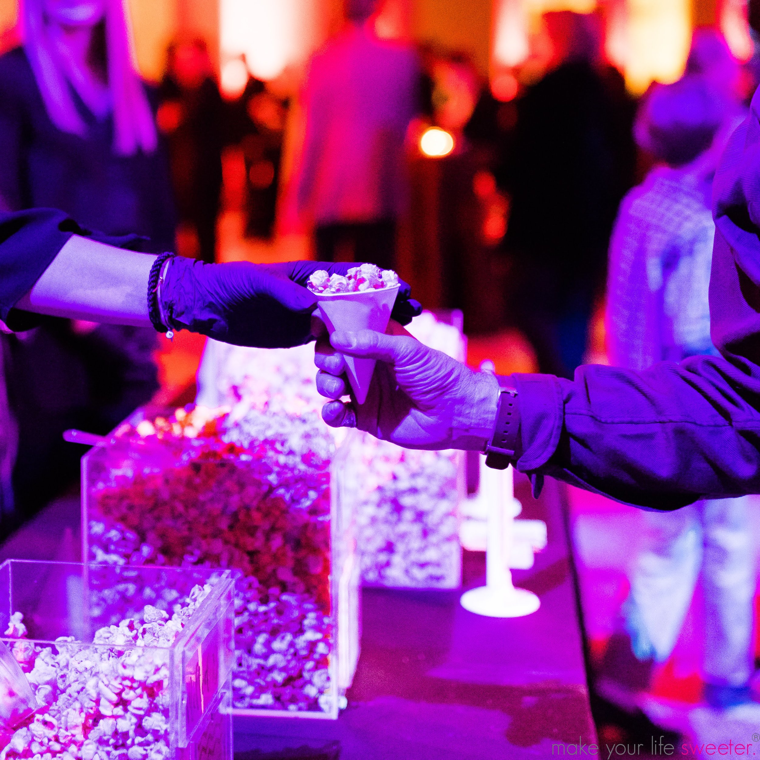 Make Your Life Sweeter Events - The Met Member Holiday Party: HotPoppin Gourmet Popcorn Bar