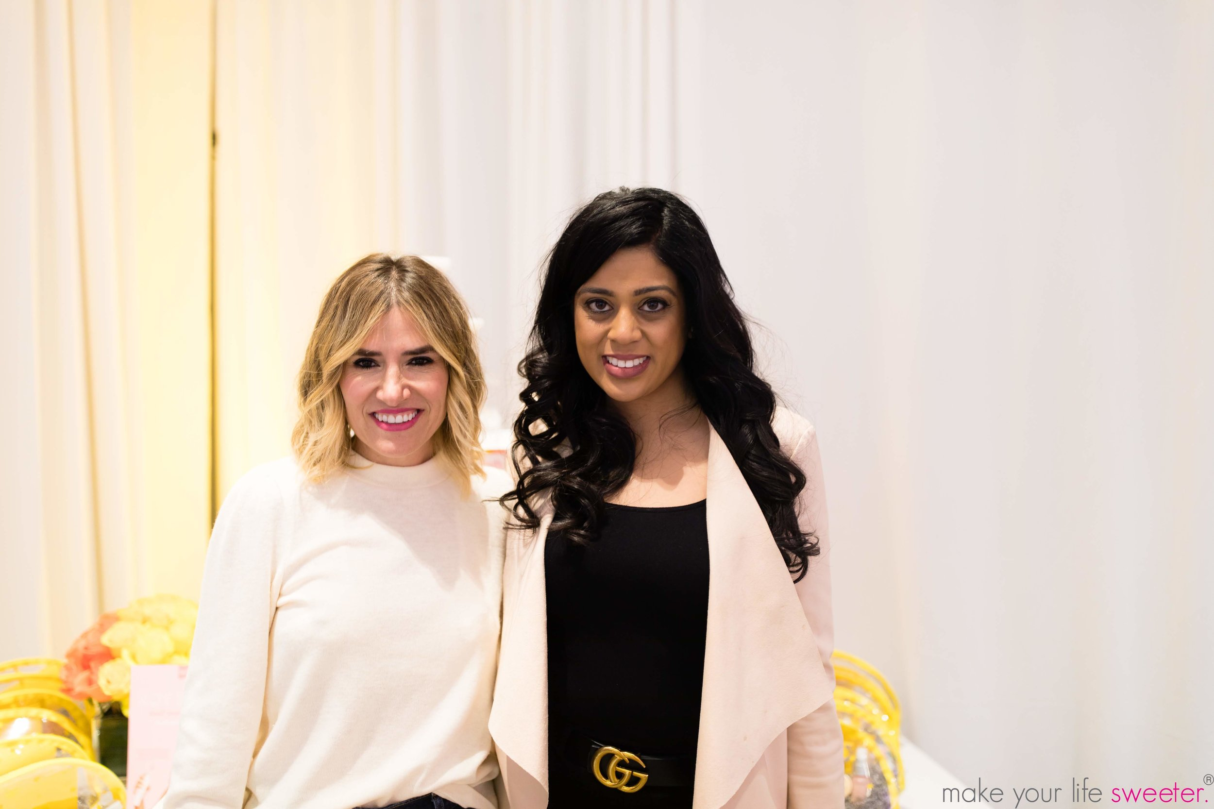 Make Your Life Sweeter Events - Drybar event - Yasmeen Tadia and Alli Webb