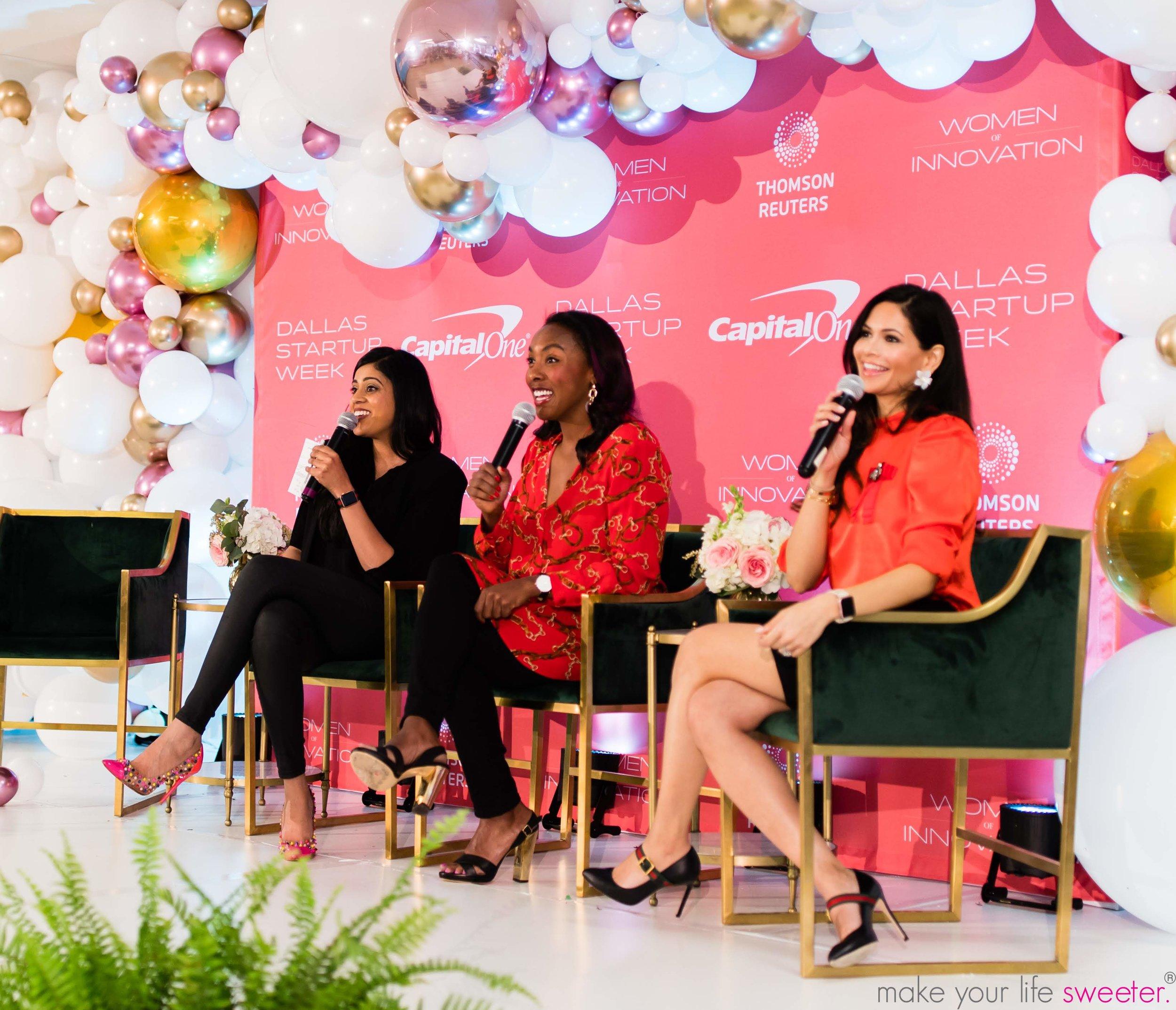 Yasmeen Tadia Speaking Engagements - DFW Startup Week - Women of Innovation