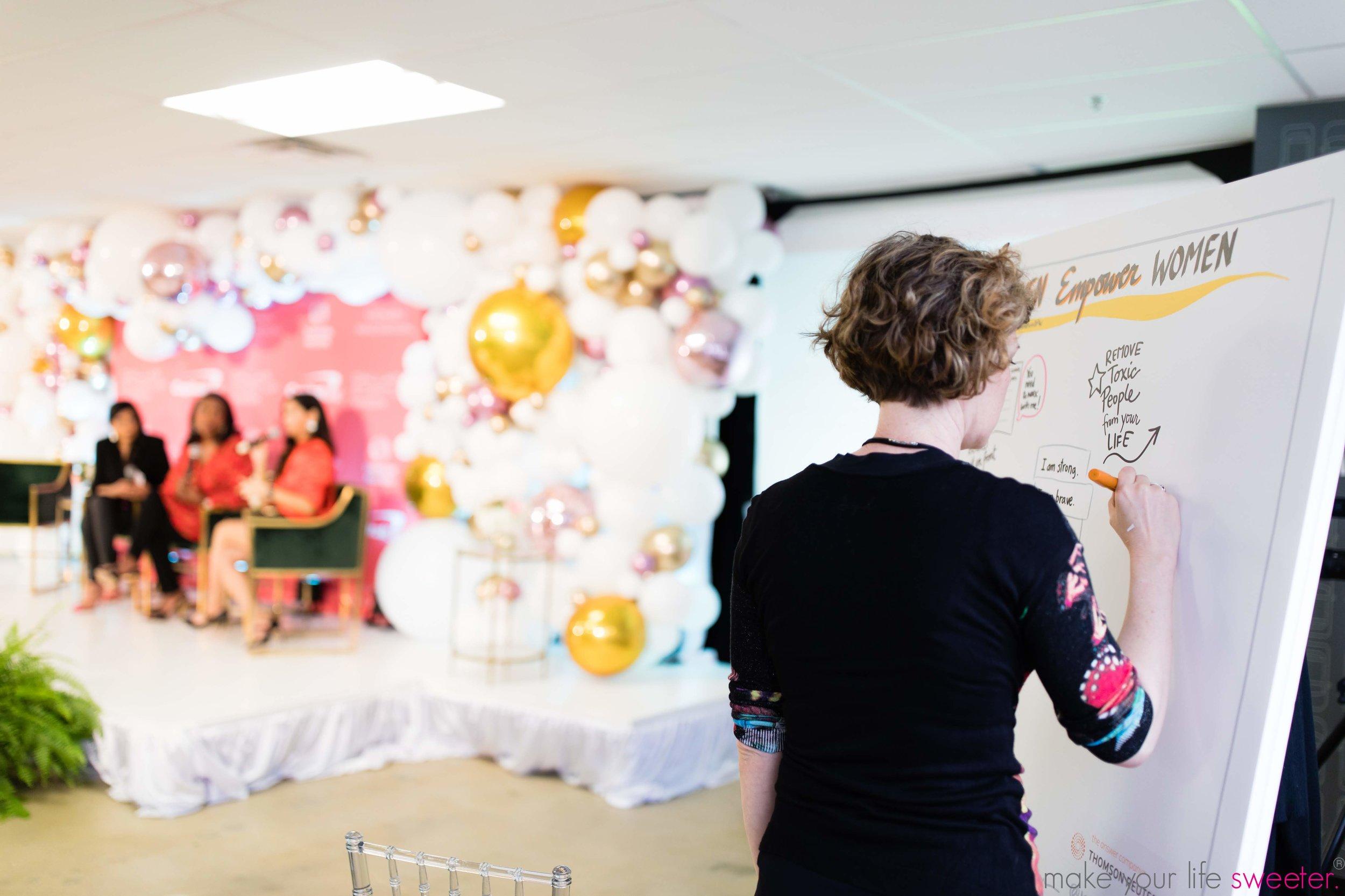 Yasmeen Tadia Speaking Engagement - DFW Startup Week - Women of Innovation