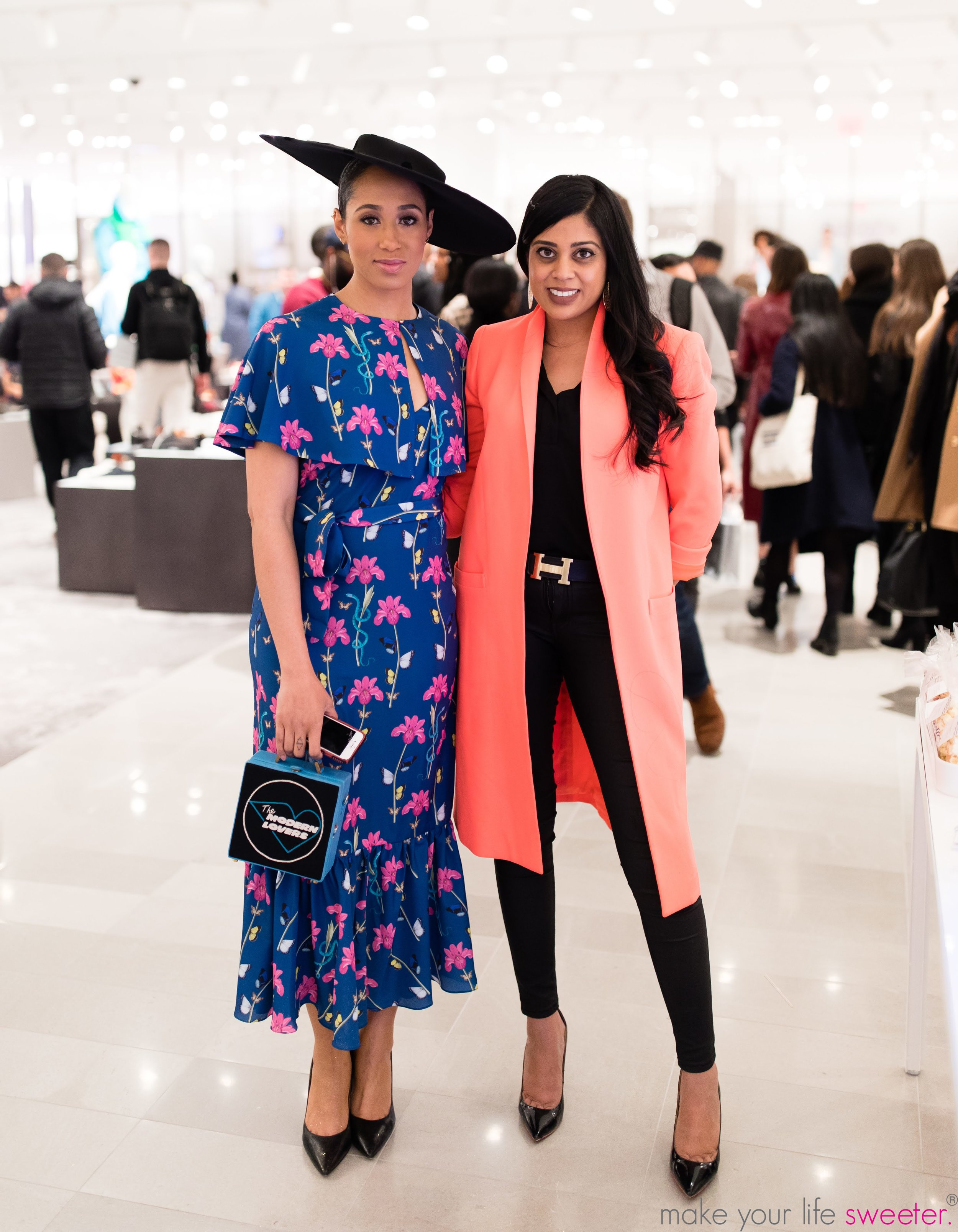 Make Your Life Sweeter Events - Yasmeen Tadia and Margo Bingham: Fluffpop Artisanal Cotton Candy Live Spin - Neiman Marcus Hudson Yards