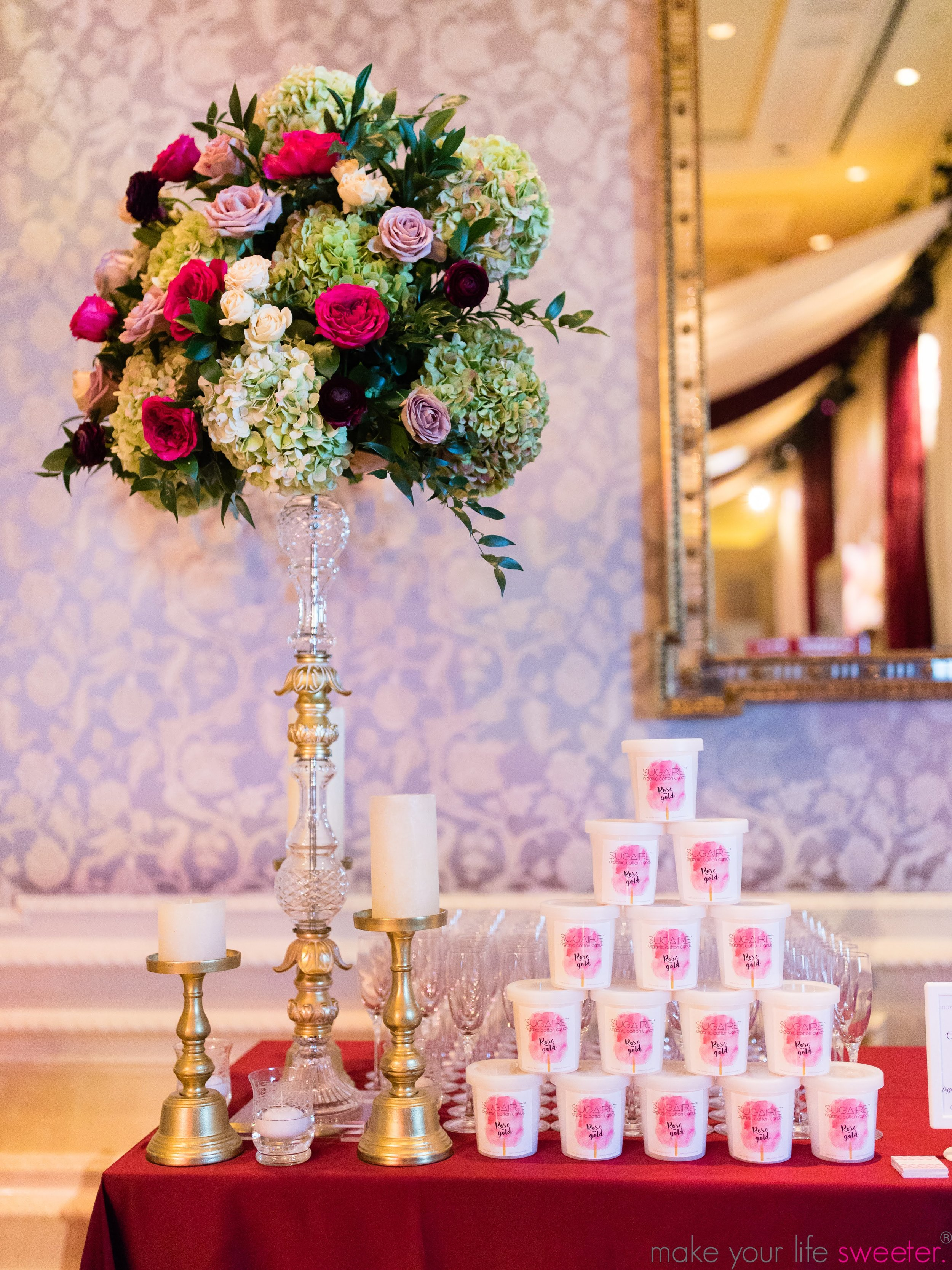 Make Your Life Sweeter Events - The Breakers Resort - Sugaire Organic Cotton Candy