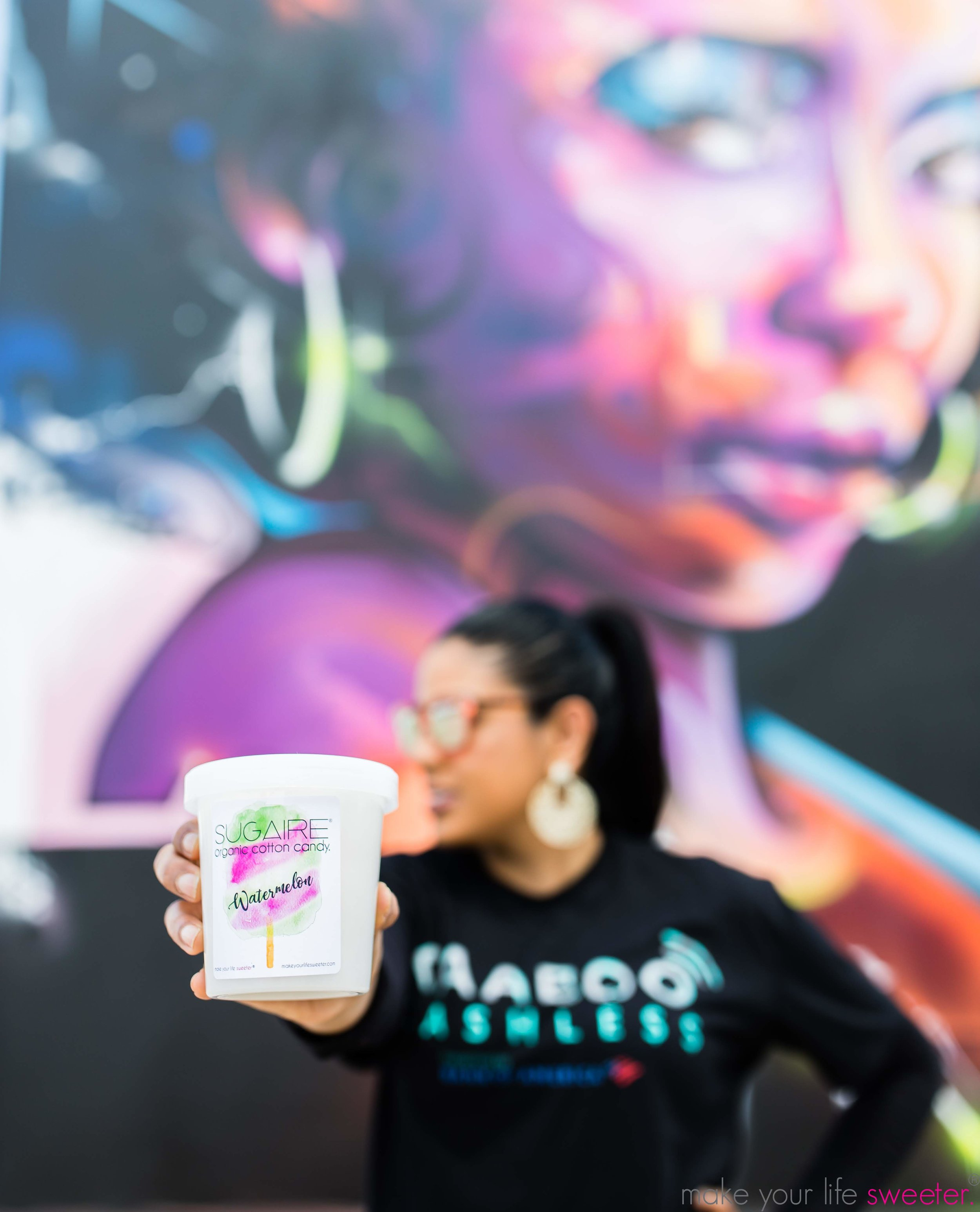 Make Your Life Sweeter Events - Kaaboo Texas - Sugaire Organic Cotton Candy