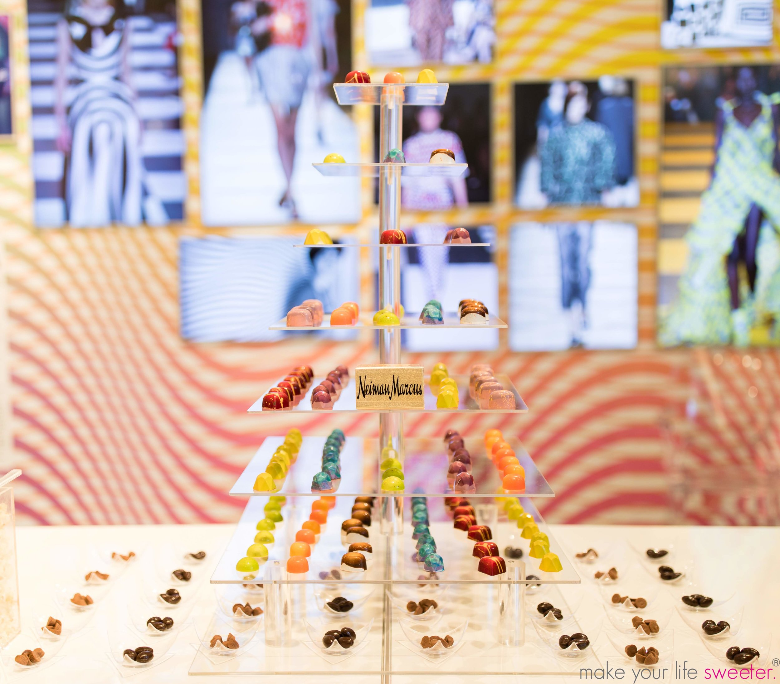 Make Your Life Sweeter Events - Neiman Marcus Hudson Yards Pride Event - Artisanal Truffle Bar