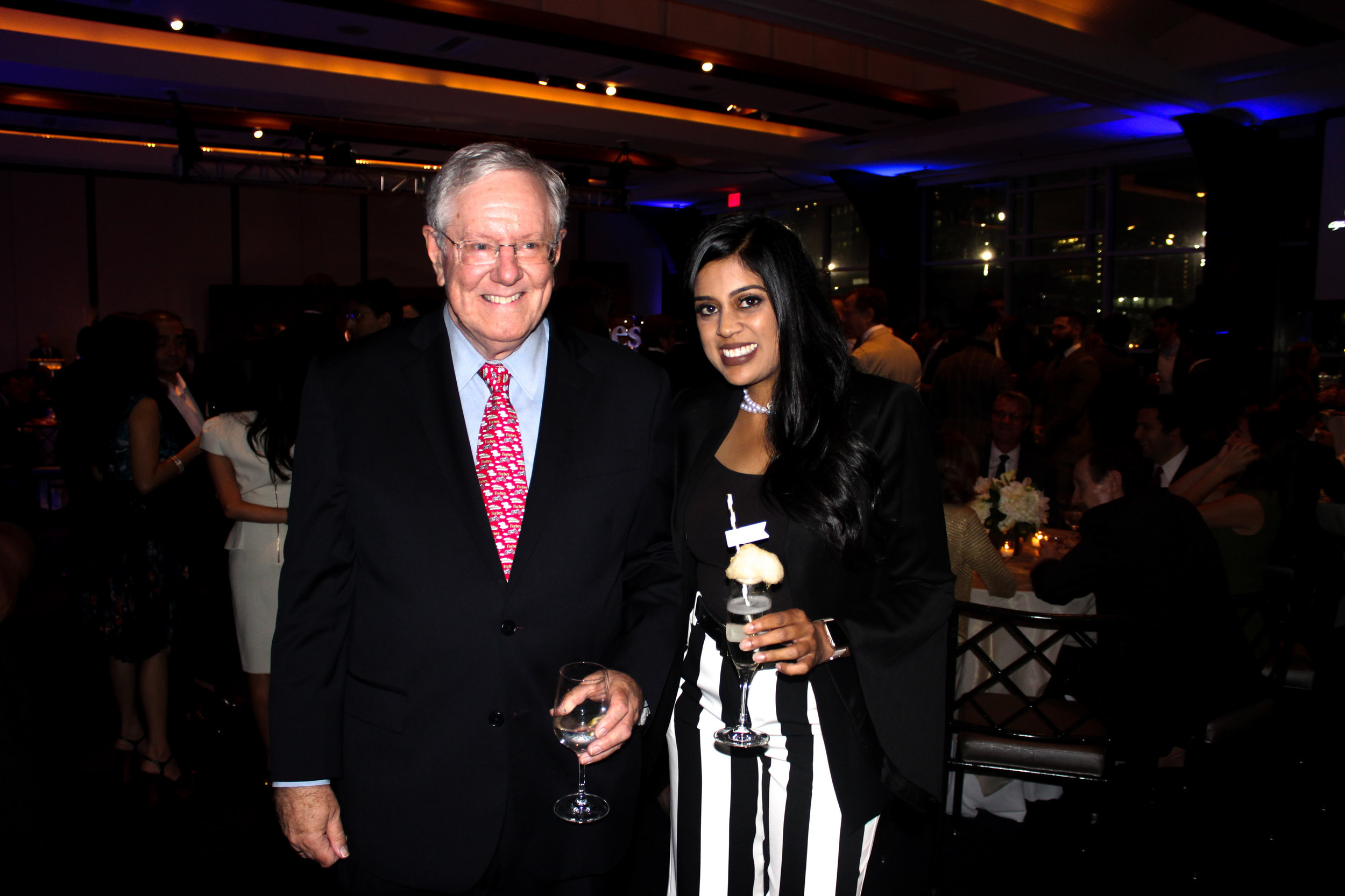 Make Your Life Sweeter Events - Yasmeen Tadia and Steve Forbes - Forbes 100 year Anniversary Party- Sugaire Organic Cotton Candy