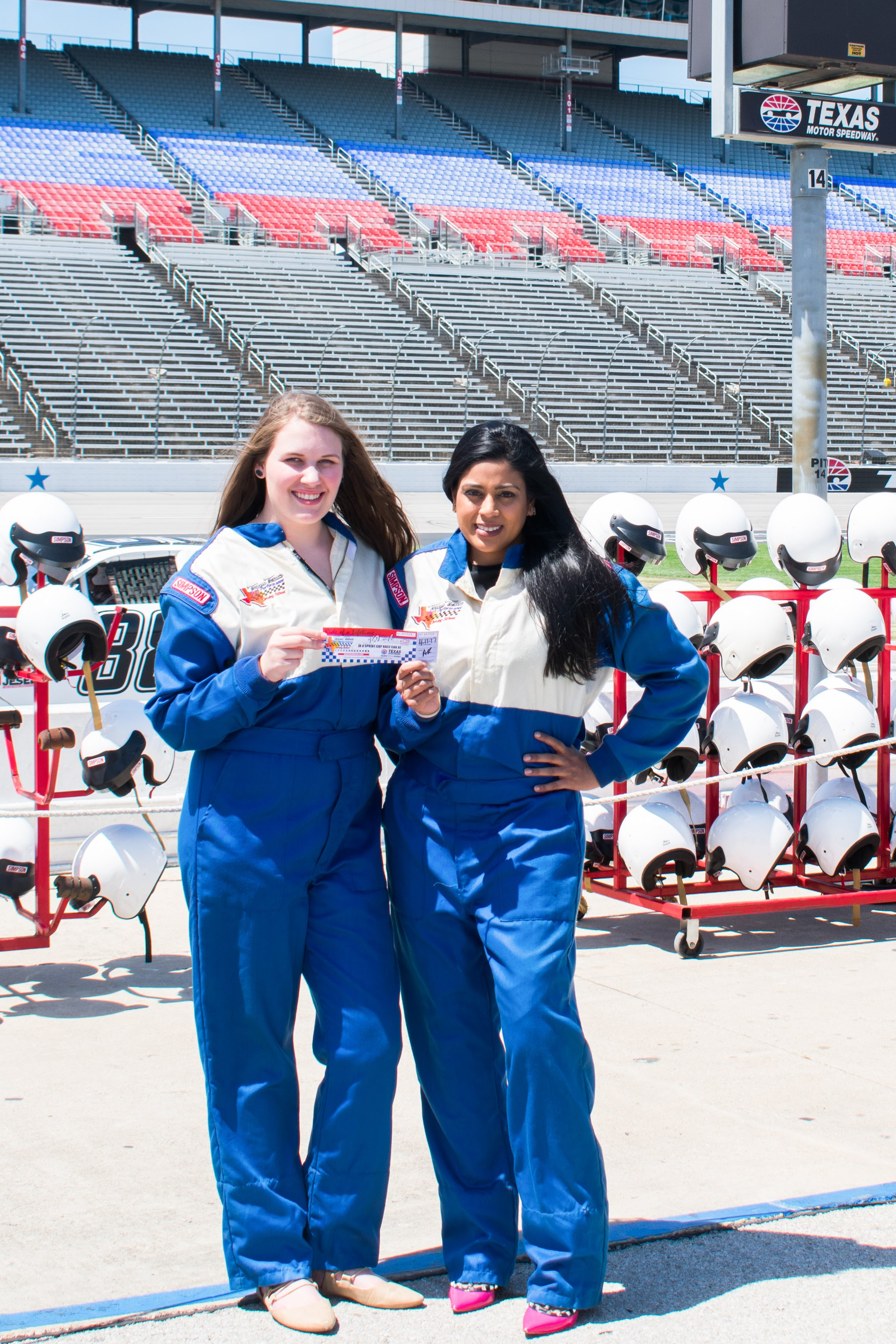 Make Your Life Sweeter Events - Yasmeen Tadia at Texas Motor Speedway
