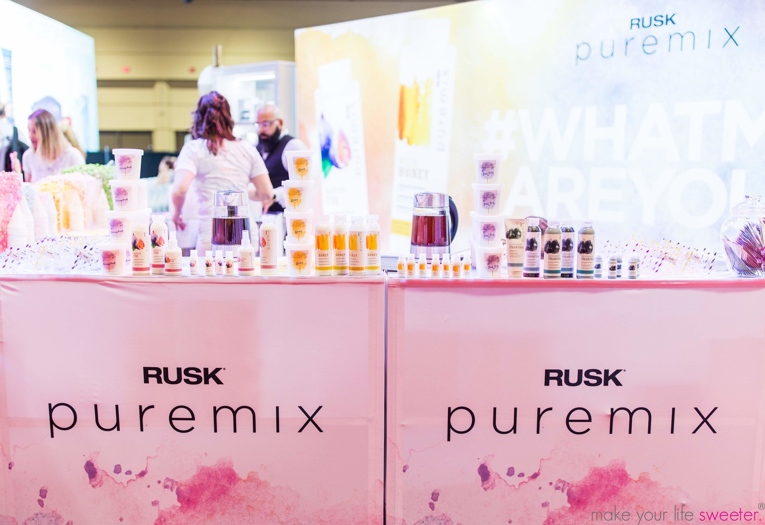 Make Your Life Sweeter Events - Conair Puremix Premier Orlando Convention - Sugaire Organic Cotton Candy Hot Tea Infusion Bar
