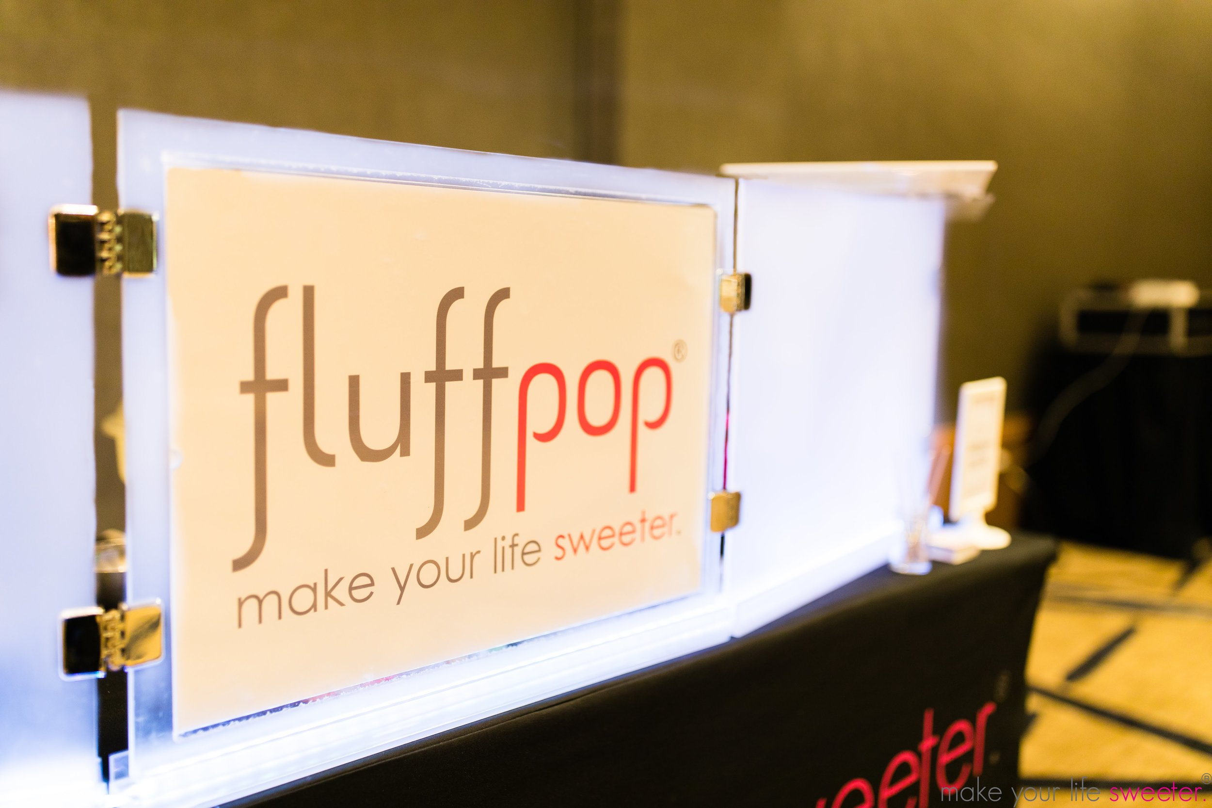 Fluffpop artisanal miniature gourmet cotton candy - L'Oréal VIP Insiders Events - Make Your Life Sweeter Events