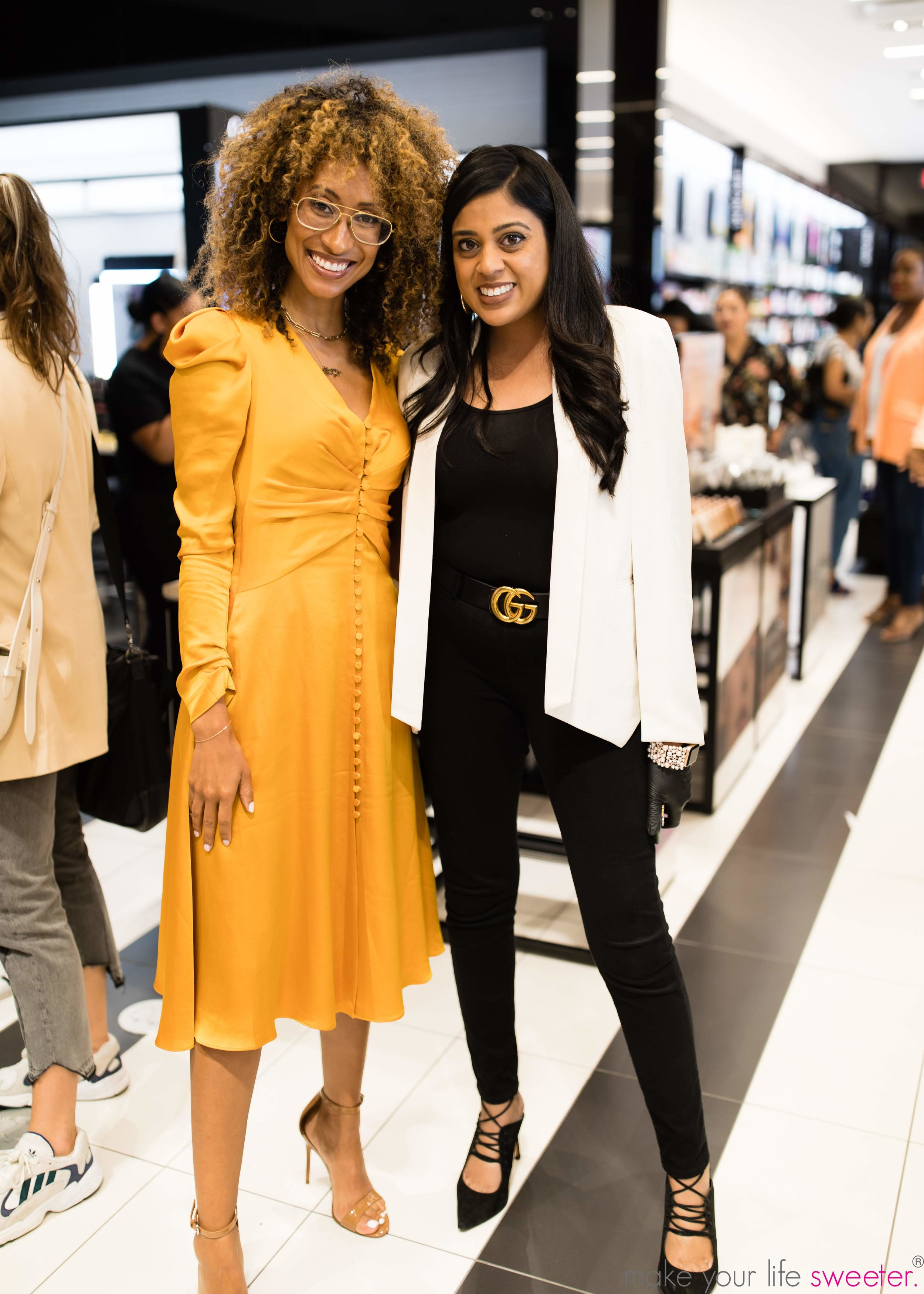 Make Your Life Sweeter Events - Yasmeen Tadia with Elaine Welteroth - Sephora Hudson Yards Event - August 16,2019