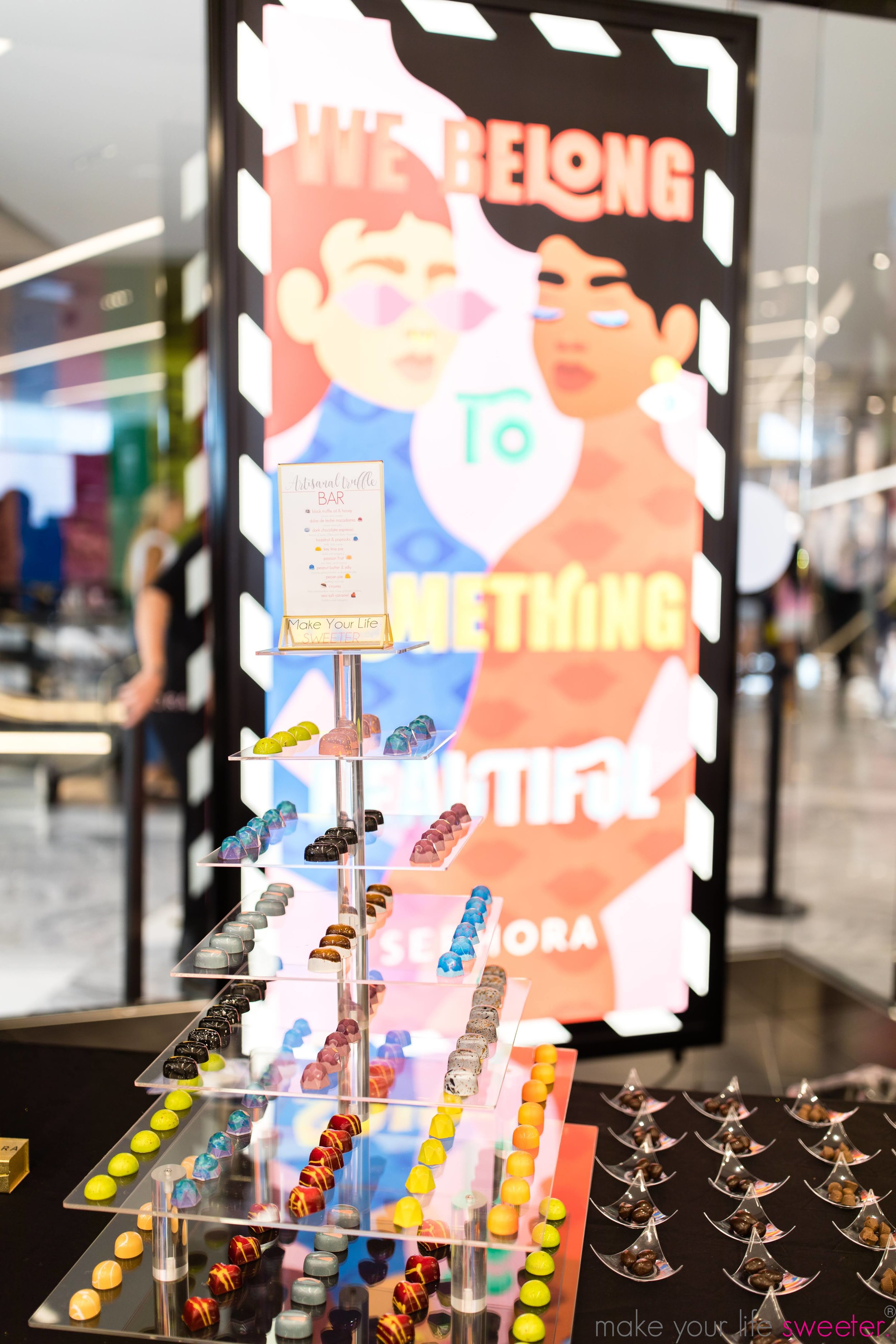 Make Your Life Sweeter Events: Sephora Hudson Yards - Artisanal Chocolate Tasting Bar