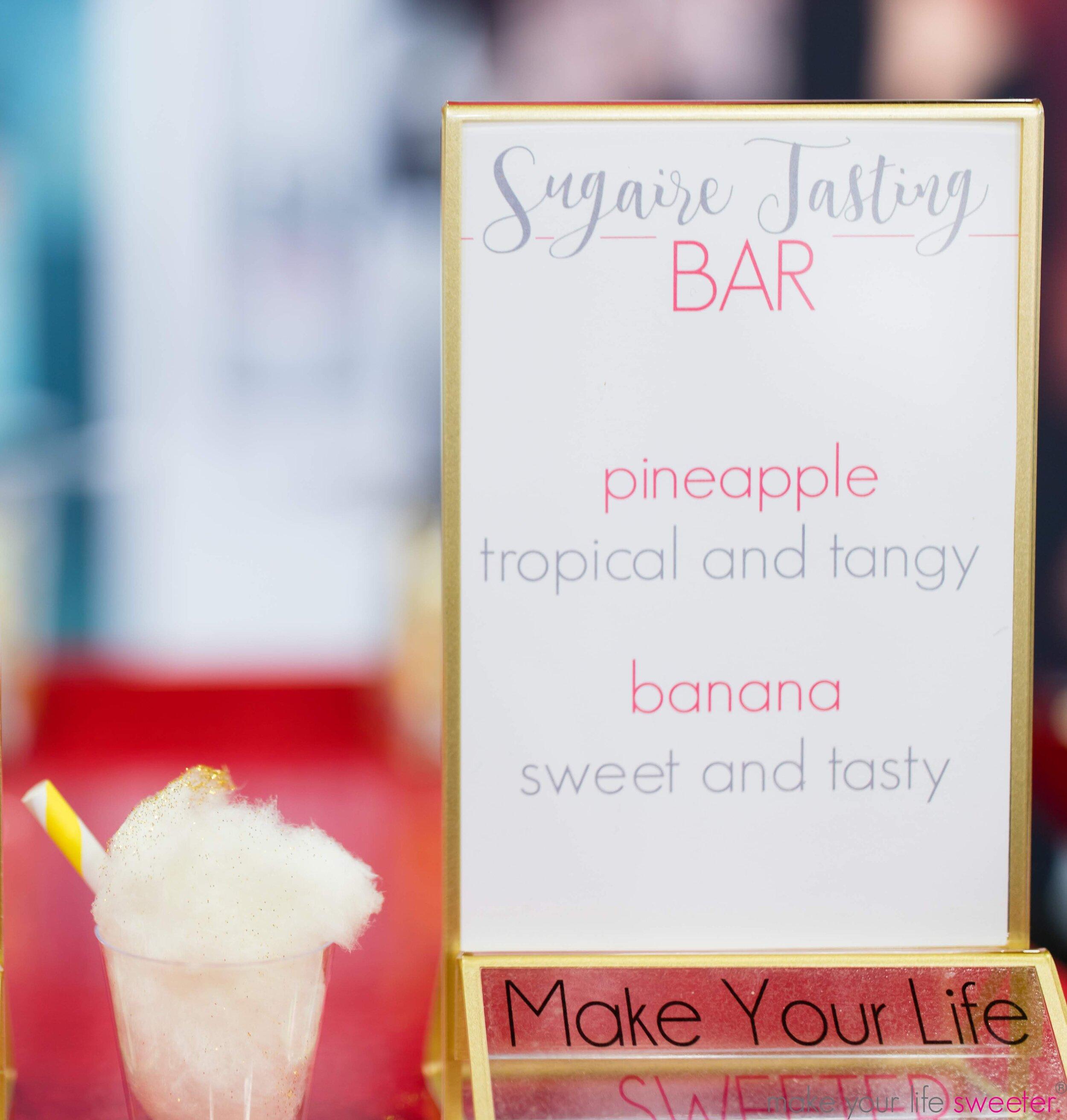 Sugaire Organic Cotton Candy Tasting Bar - Conair Rusk