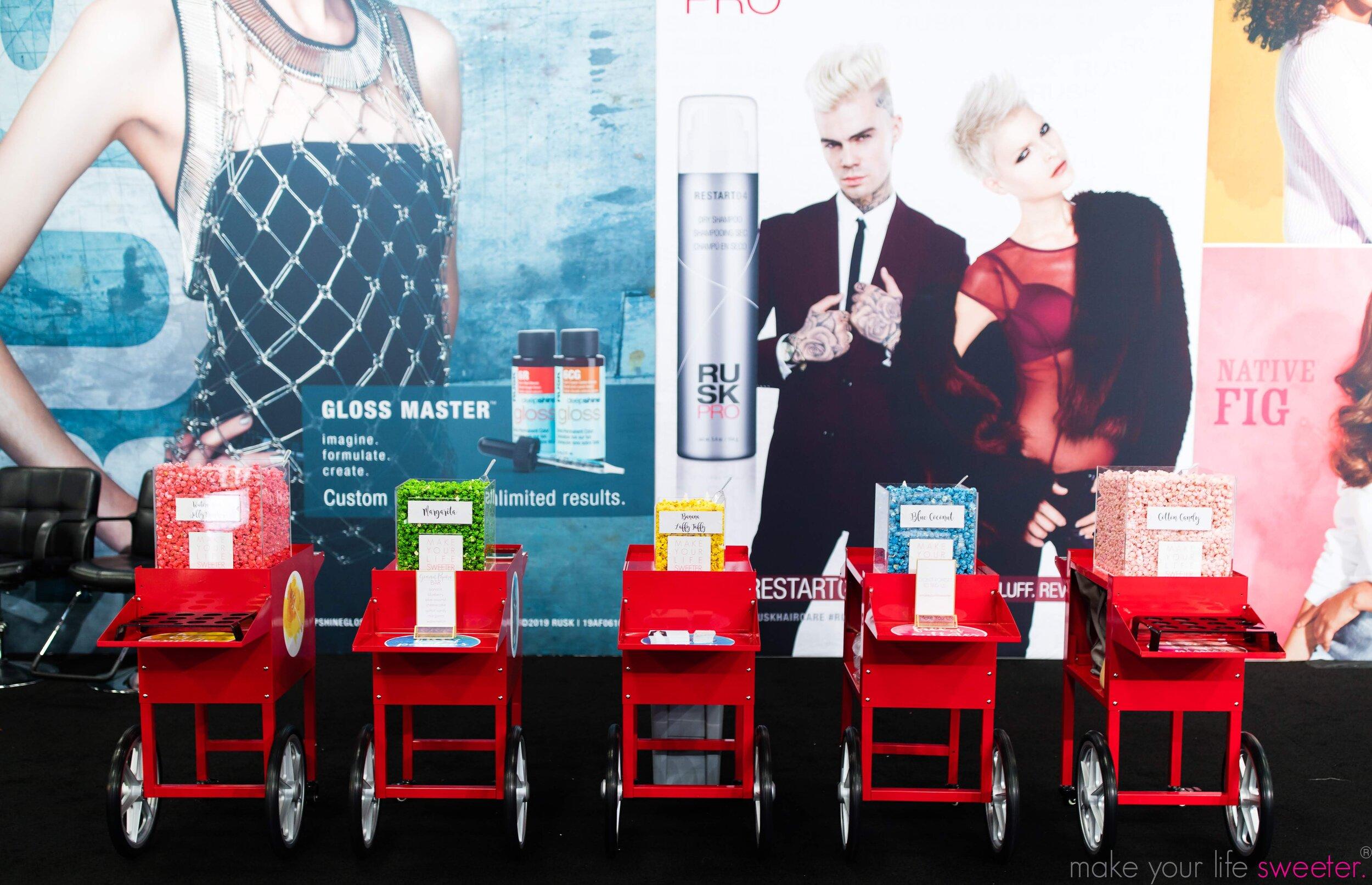 Hotpoppin Gourmet Popcorn Bar - Conair Rusk Booth
