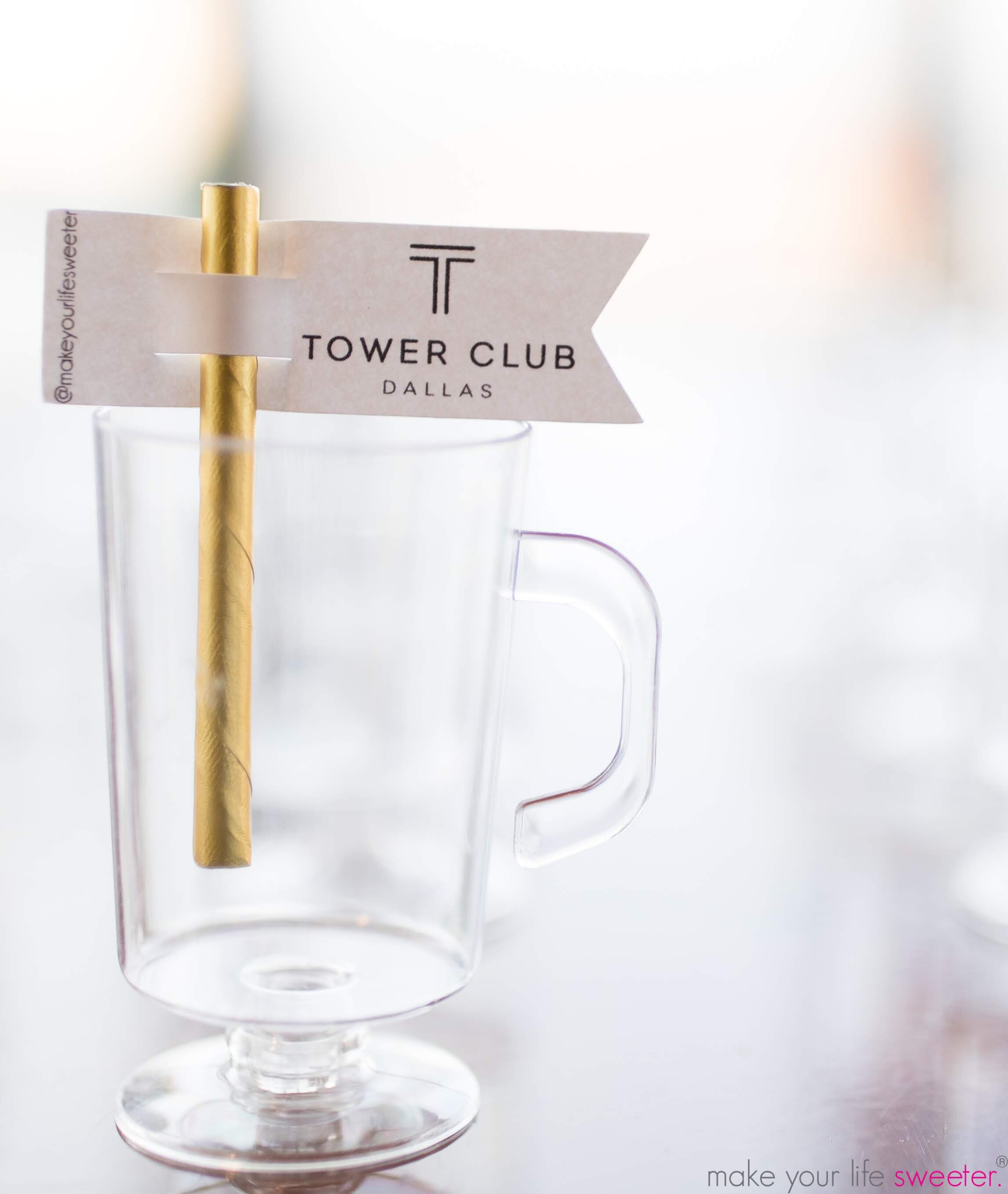 Make Your Life Sweeter Events - Tower Club Grand Opening: Sugaire Organic Cotton Candy Hot Tea Infusion Bar