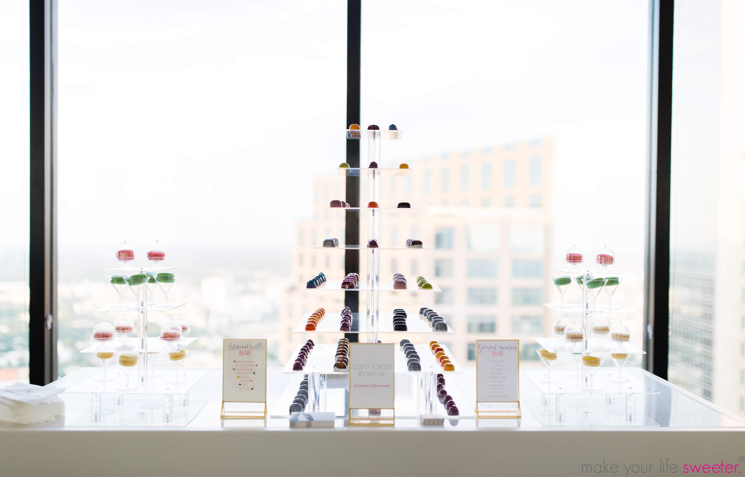 Make Your Life Sweeter Events - Tower Club Grand Opening: Artisanal Truffle Bar