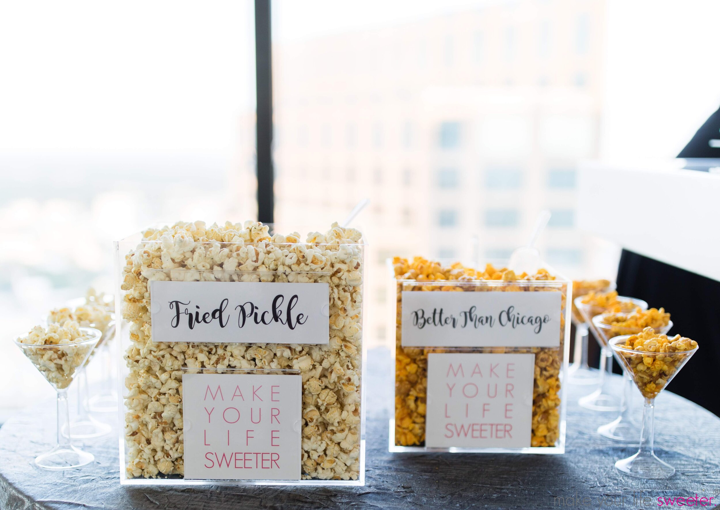 Make Your Life Sweeter Events - Tower Club Grand Opening: HotPoppin Gourmet Popcorn Bar