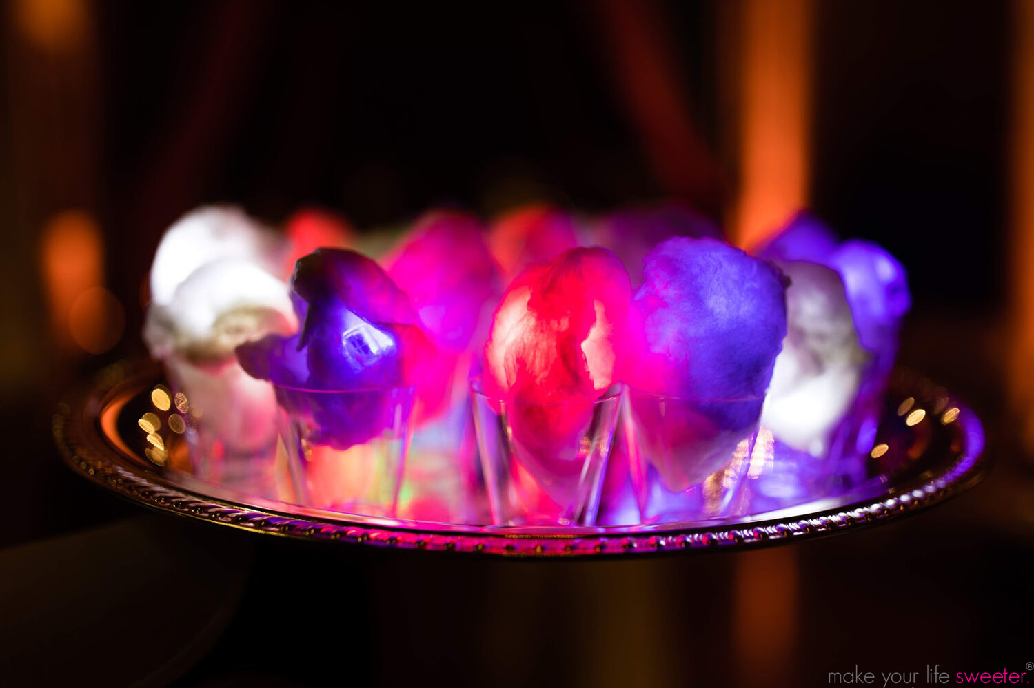 Sugaire glowing cotton candy will take your event to the next level!
