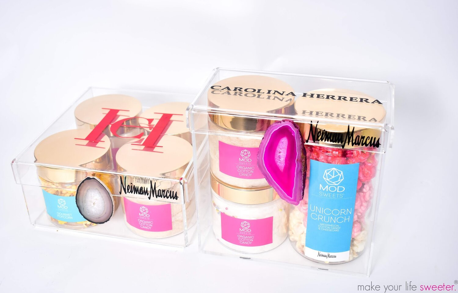 MODSWEETS CUSTOM KEEPSAKE BOX FOR CAROLINA HERRERA FROM NEIMAN MARCUS
