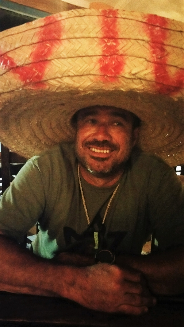 Jorge celebrating his 47th birthday in Progresso.