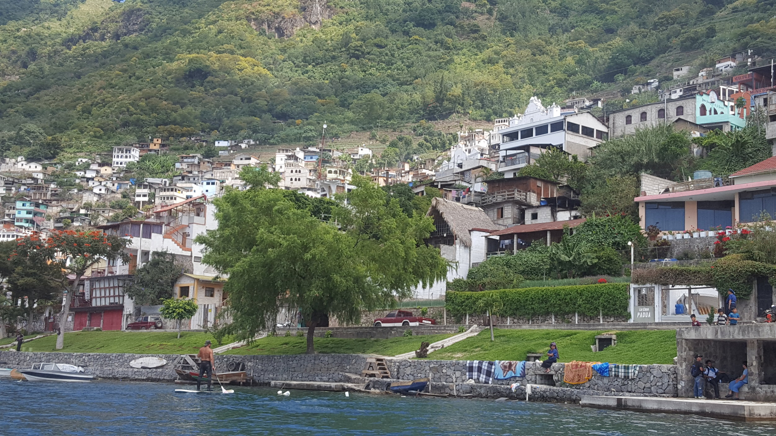 San Antonio Palopóo, Lake Atitlan