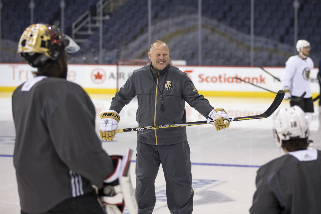 Golden Knights' Gerard Gallant never strays from coaching style - Gerard Gallant took his first-year NHL franchise to the Stanley Cup Finals and did it the way he always has.