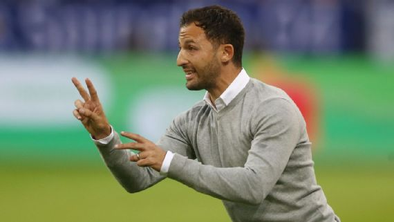 Domenico Tedesco, 32, Just getting started as manager of rising Schalke - A young manager of one of the hottest sides in the Bundesliga is front and center of the new generation.