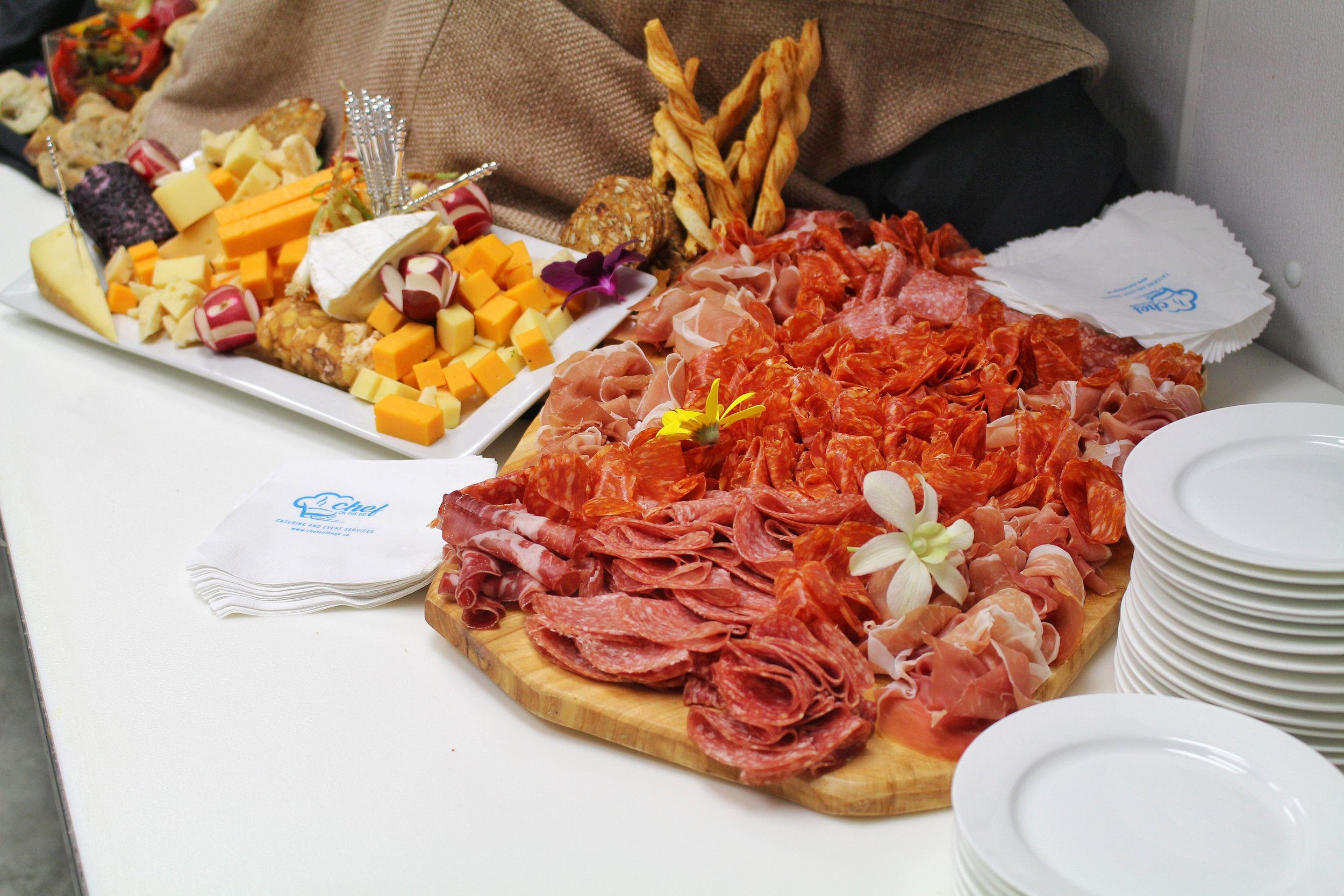Fully Loaded Cheese & Charcuterie Board