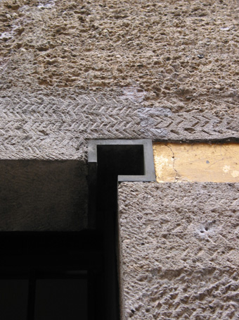 图9 Gavina Showroom的洞口转角处细节