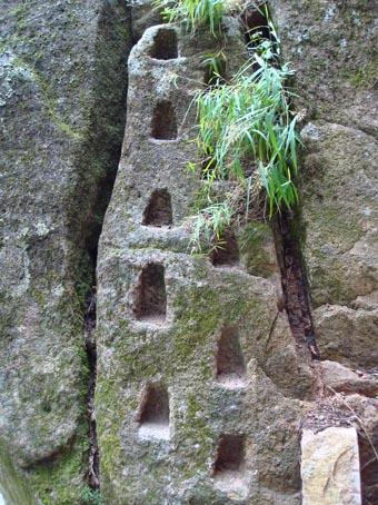 图12 黄山的台阶