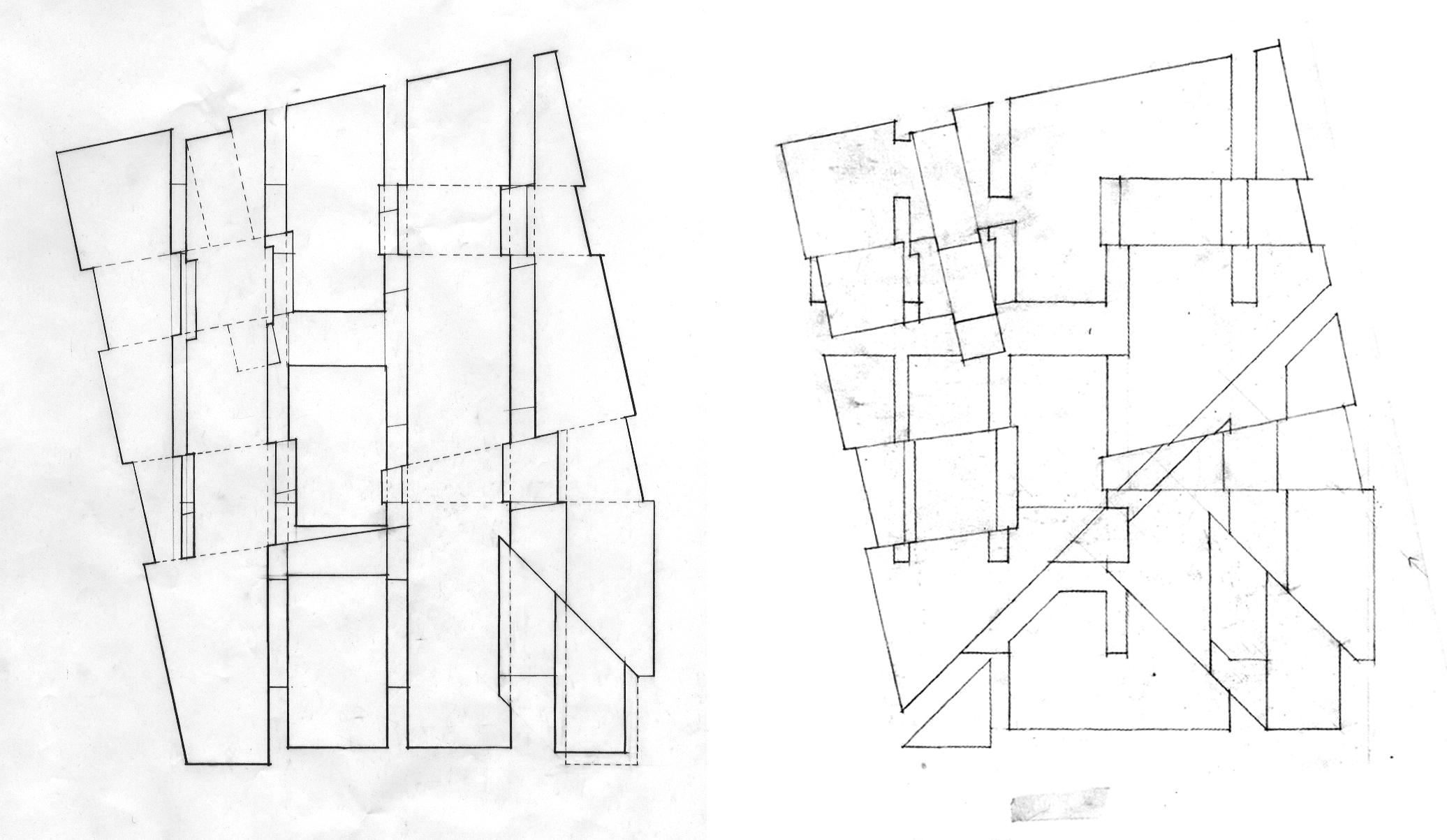 华黎在耶鲁的课程设计:耶鲁建筑系馆设计图解